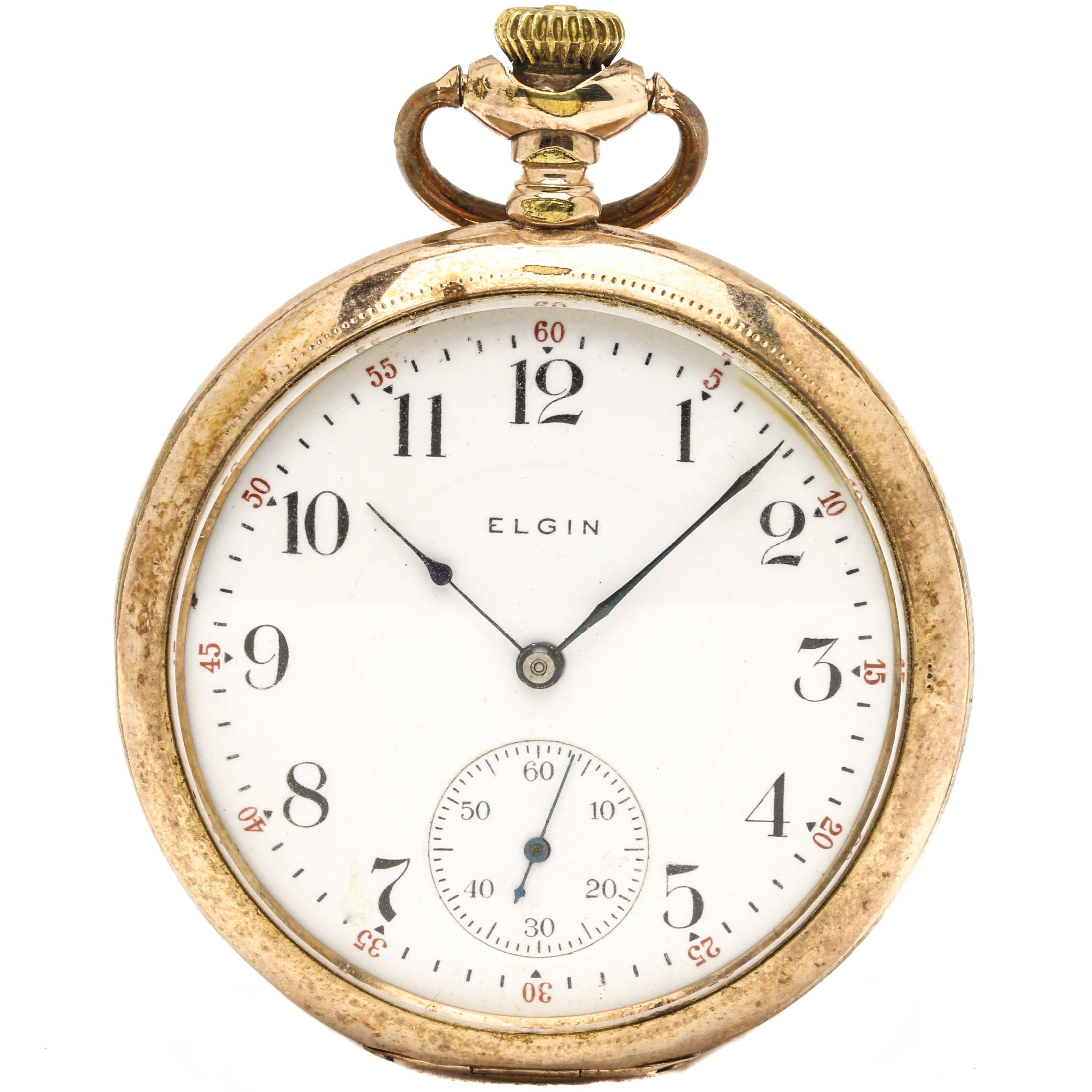 Circa 1912 Elgin :Pocket Watch