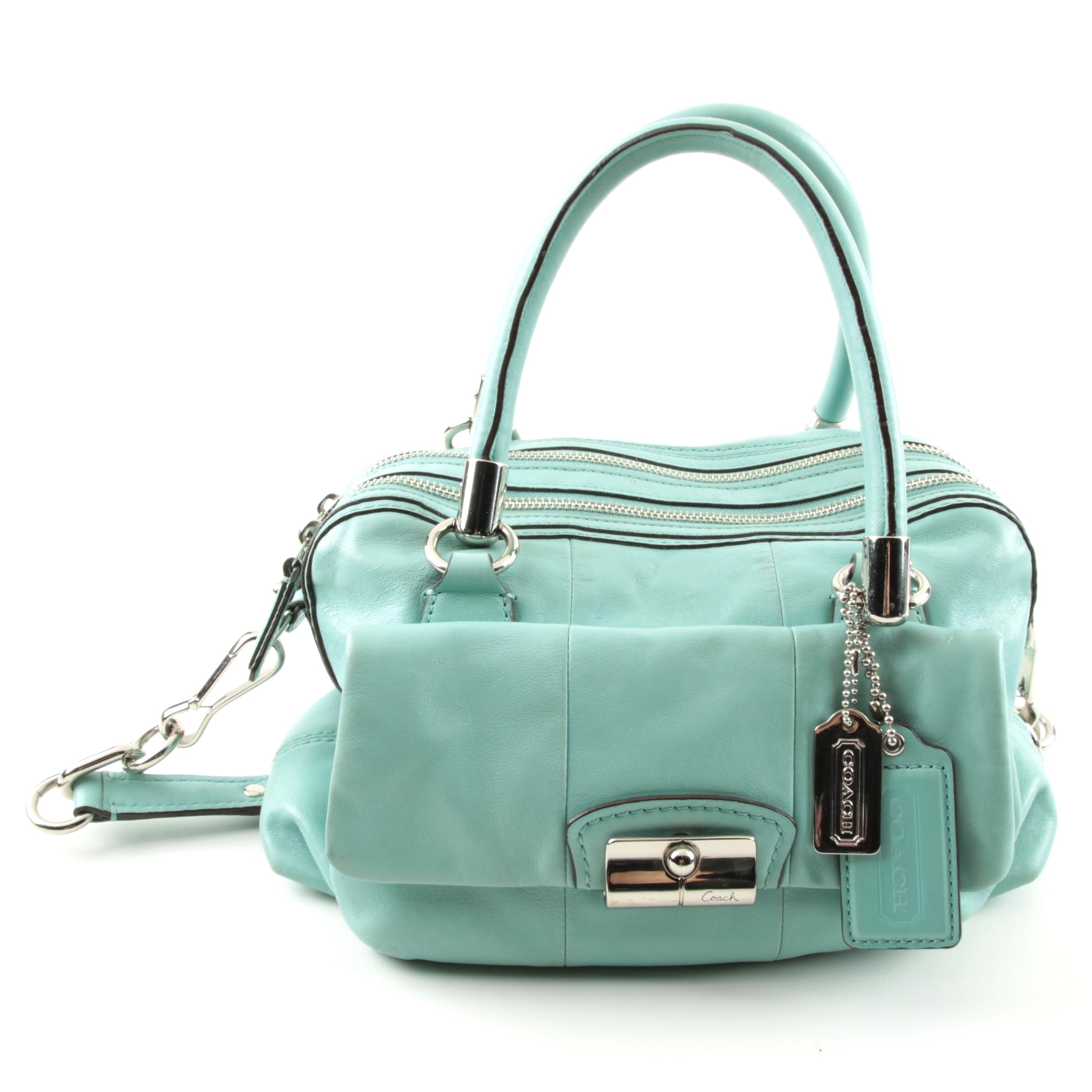 Coach Kristen Leather Satchel