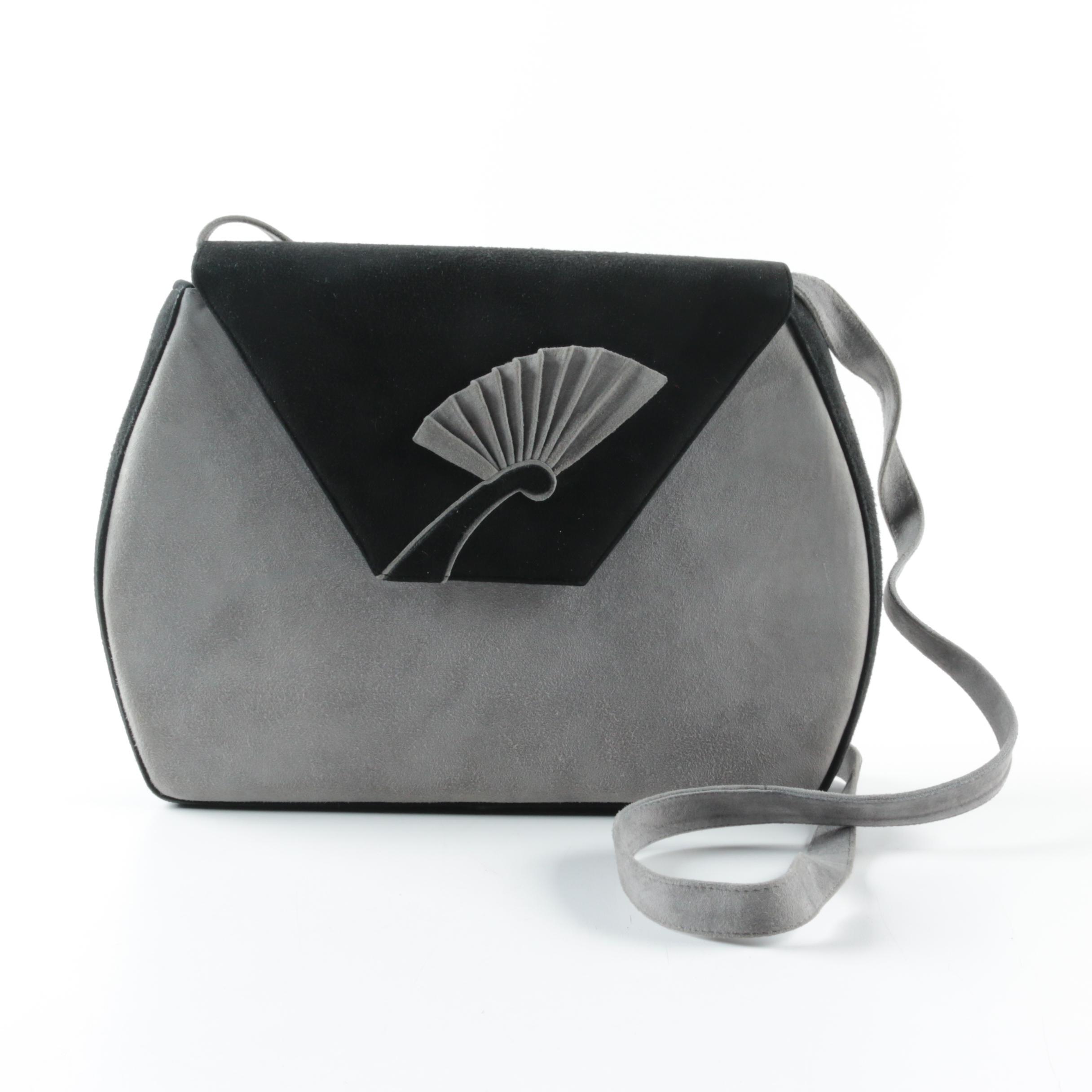 Vintage Bally Suede Crossbody Bag