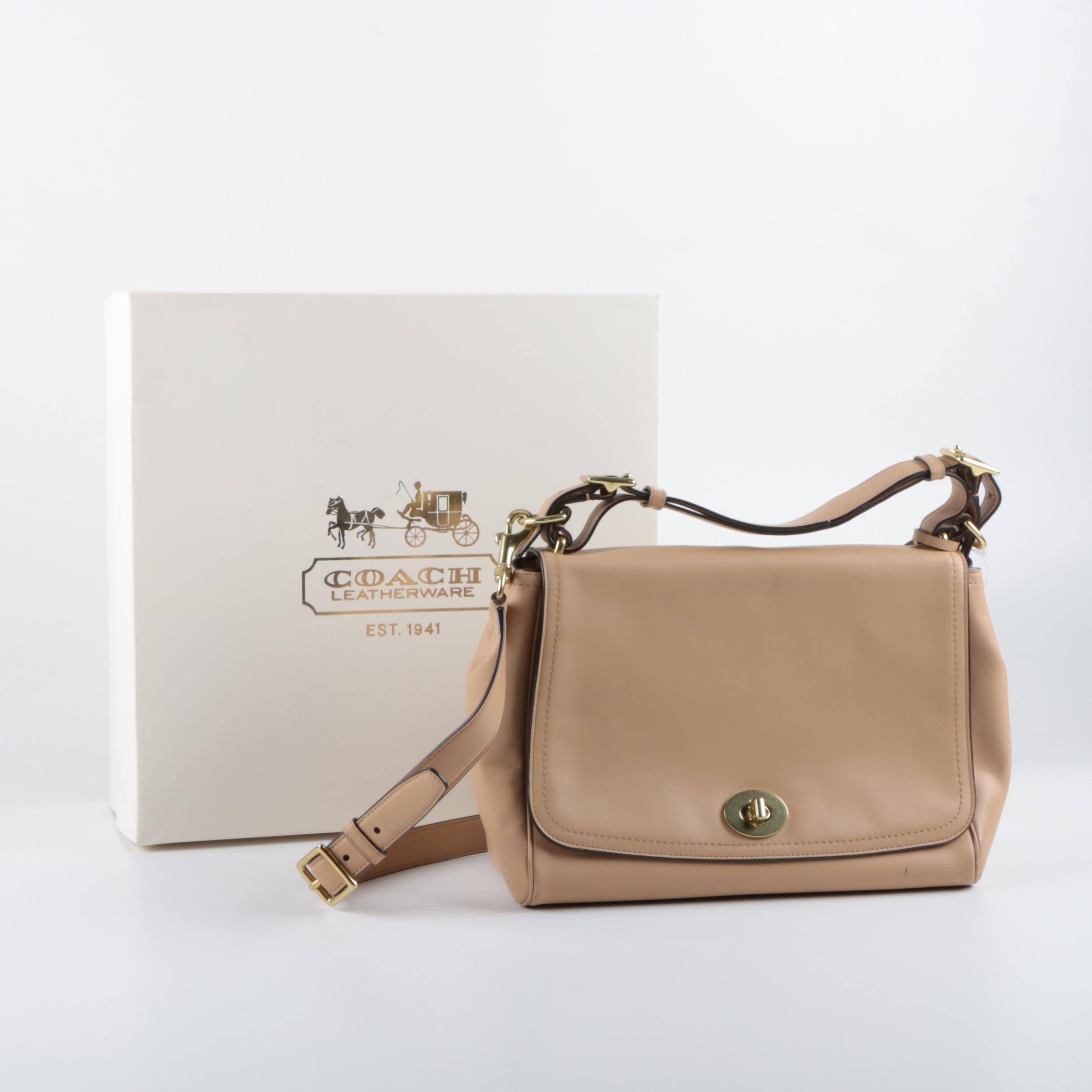 Coach Romy Legacy Leather Handbag