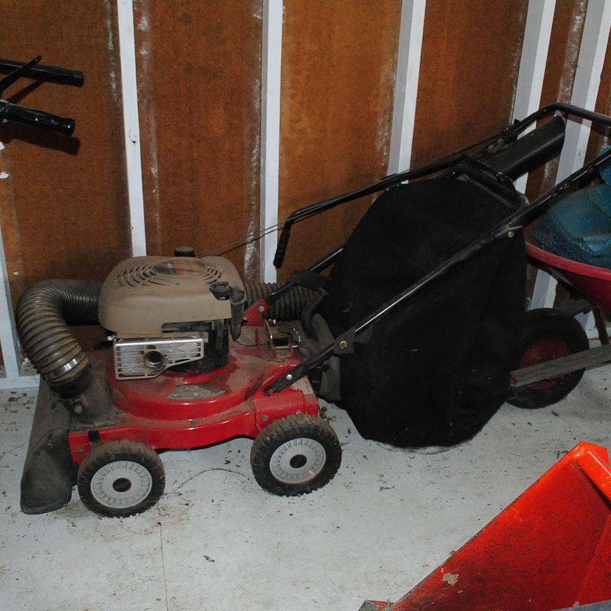 Craftsman 6 0 Hp Walk Behind 4 In 1 Yard Vacuum