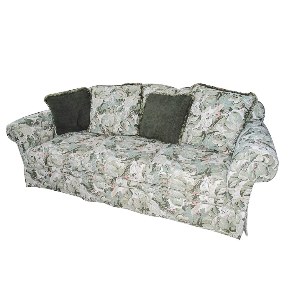 Vintage Upholstered Sofa by Sherrill Furniture
