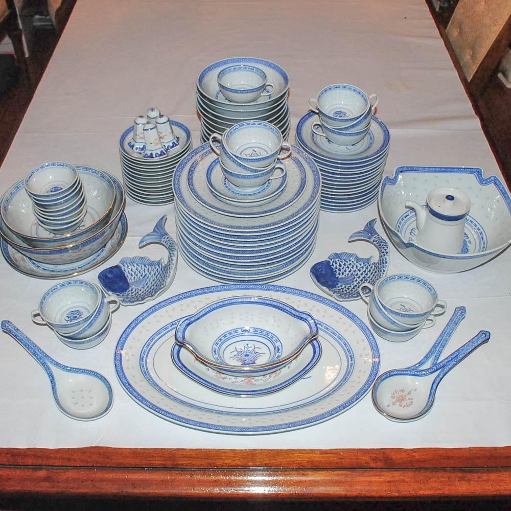 Chinese Porcelain Dinnerware Serveware and Accessories ... & Chinese Porcelain Dinnerware Serveware and Accessories : EBTH