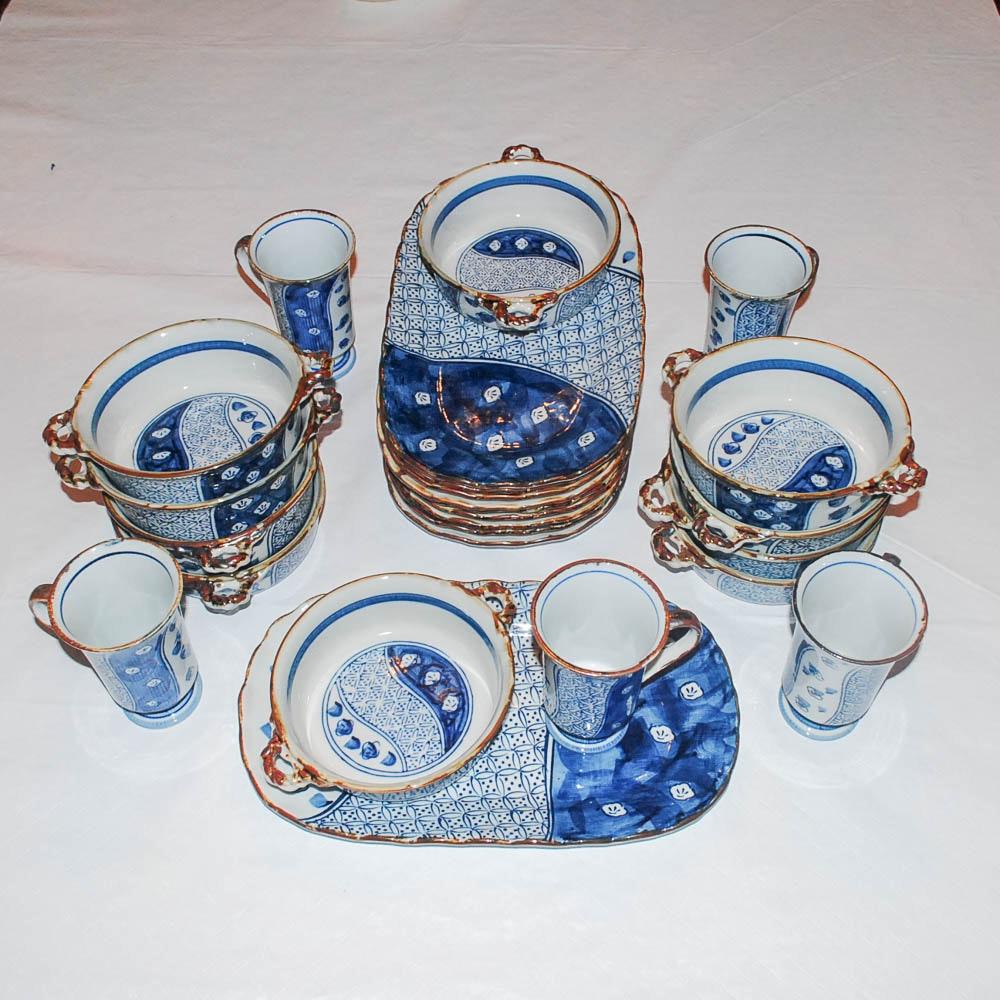 Hand Painted Japanese Tableware