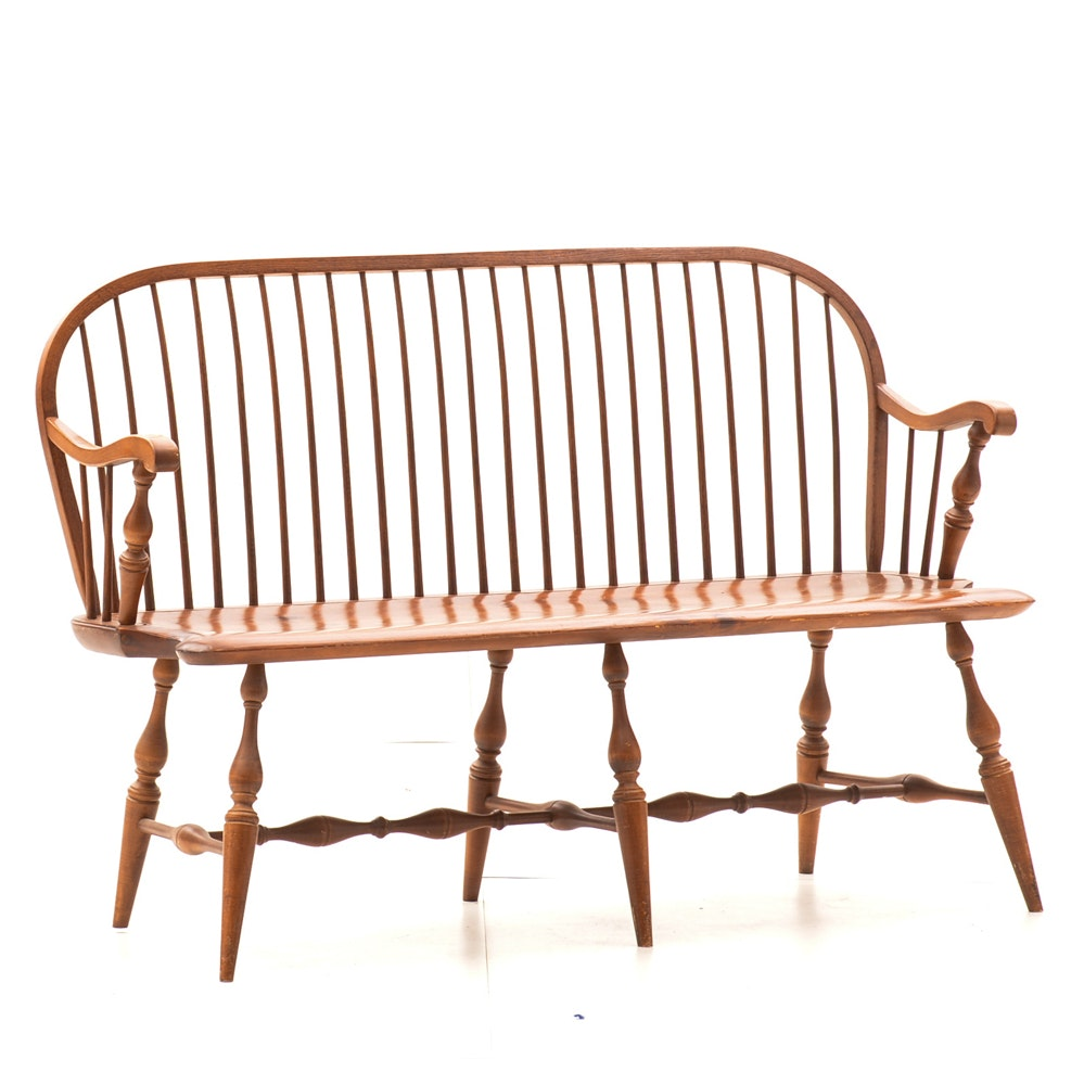 Vintage Pine Indoor Bench