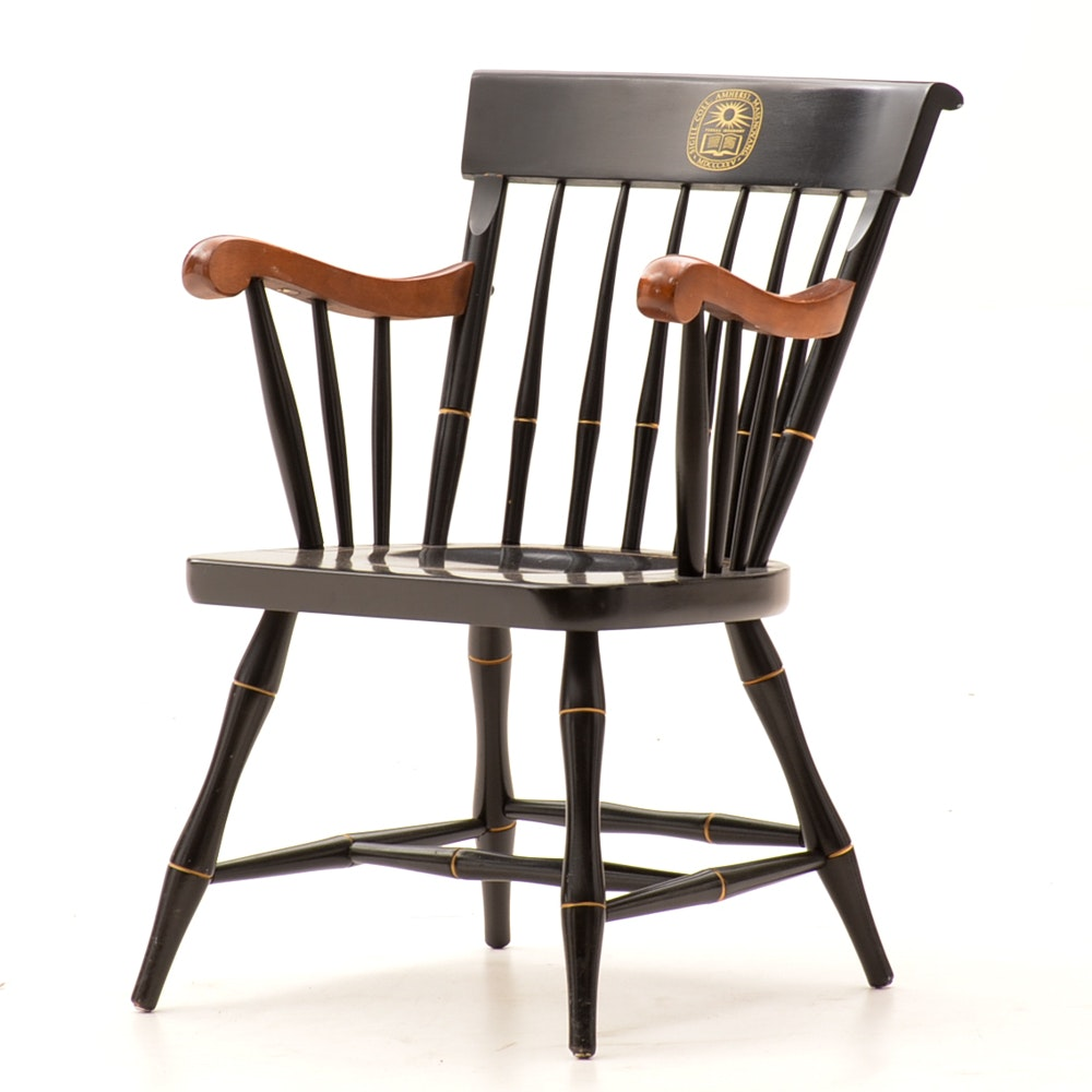 Vintage Amherst College Armchair By Nichols & Stone Co.