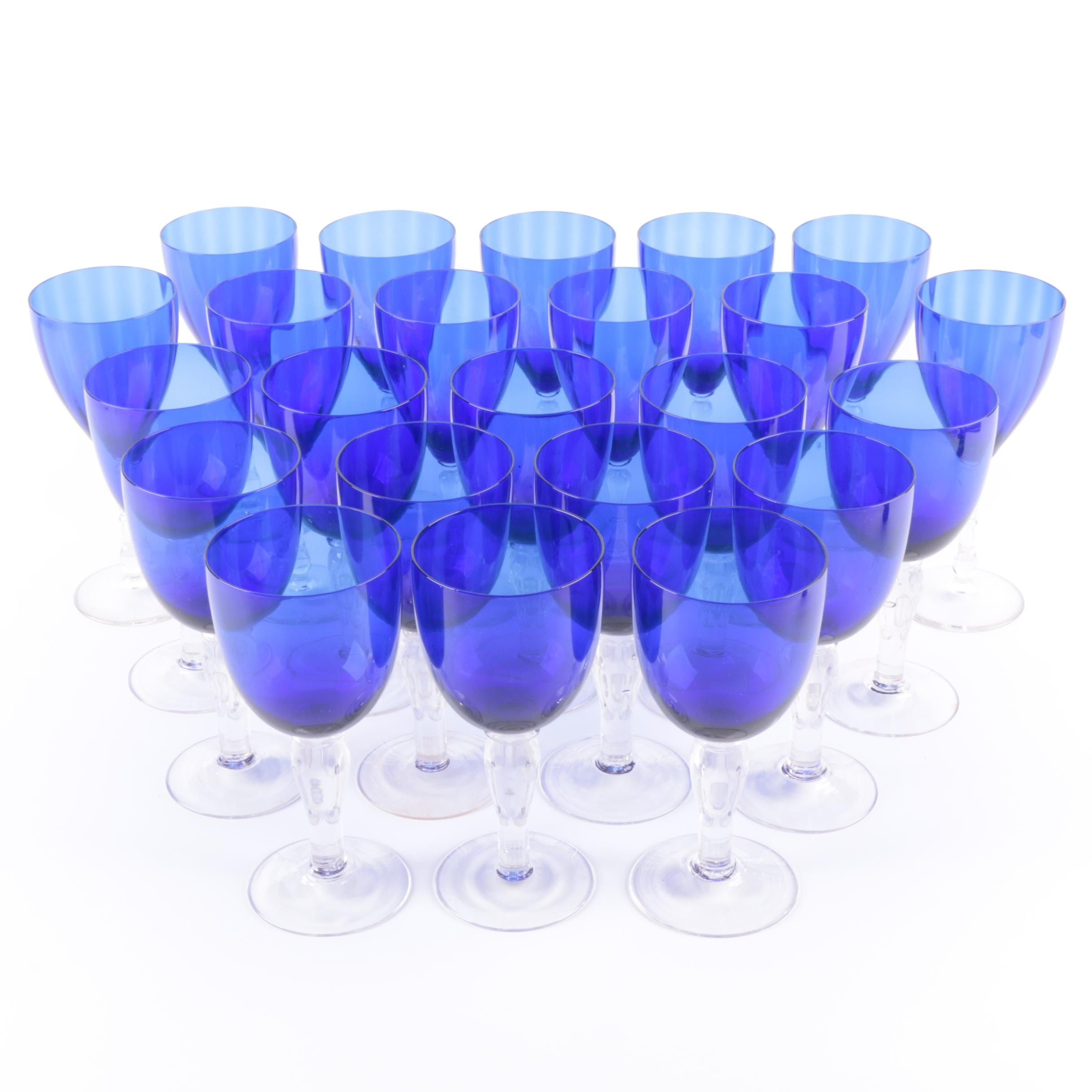 Cobalt Wine Glasses