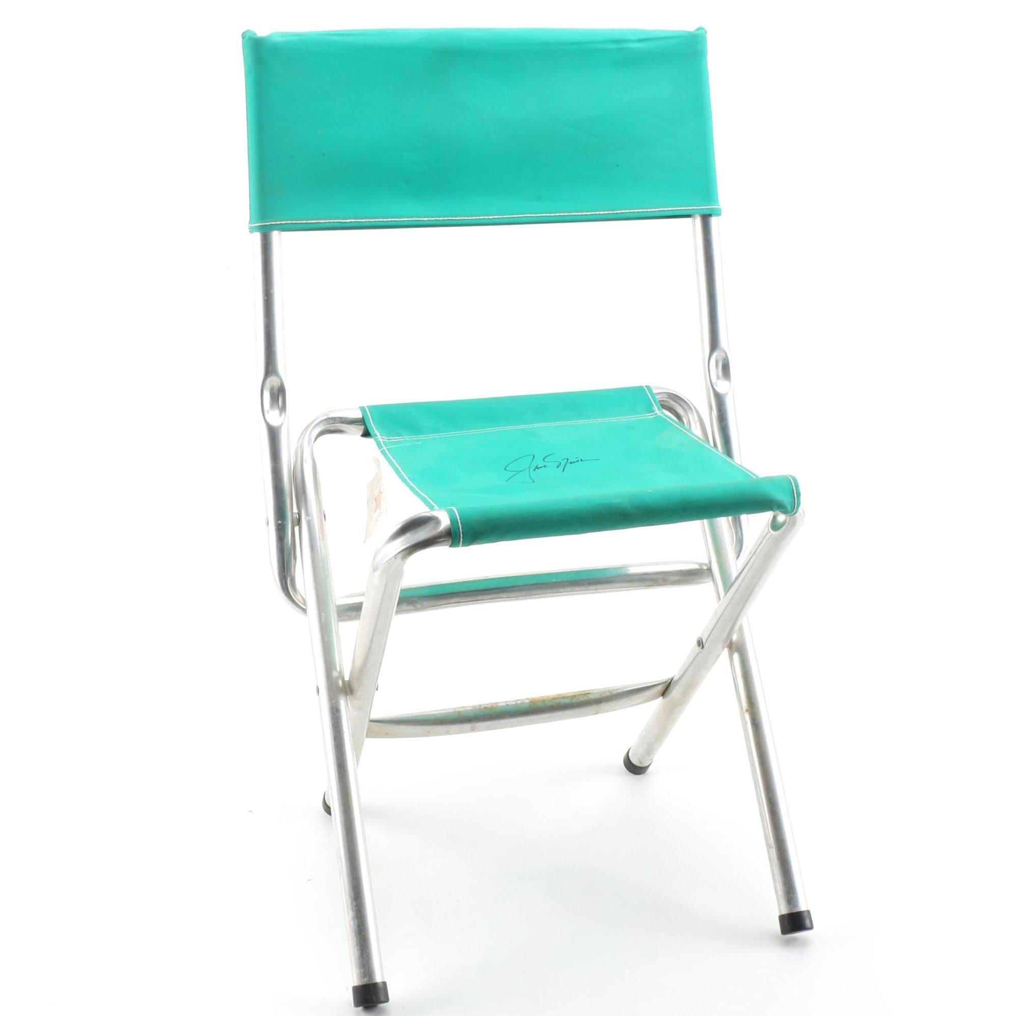 Jack Nicklaus Autographed Masters Folding Chair