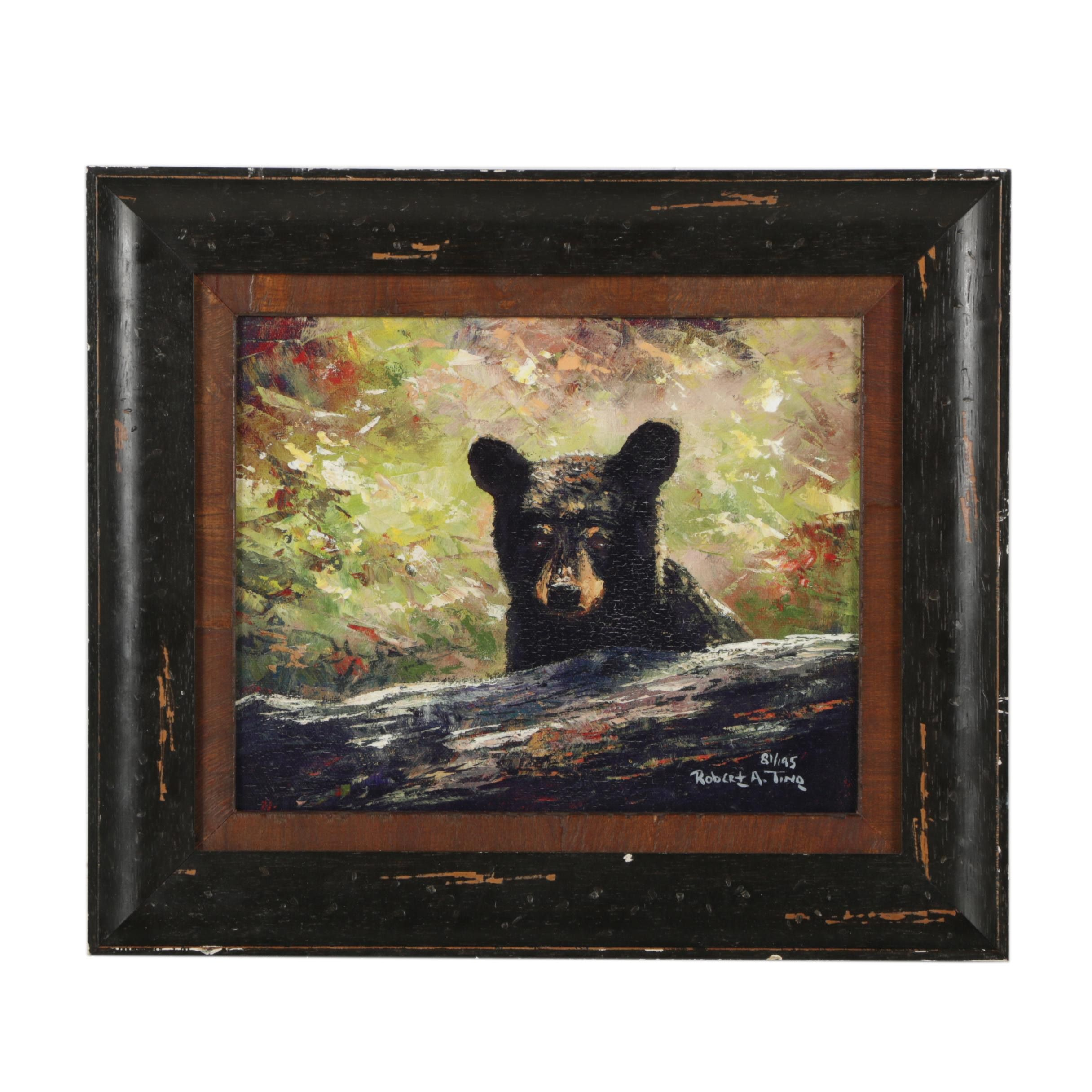 Robert A. Tino Giclee of Bear Cub