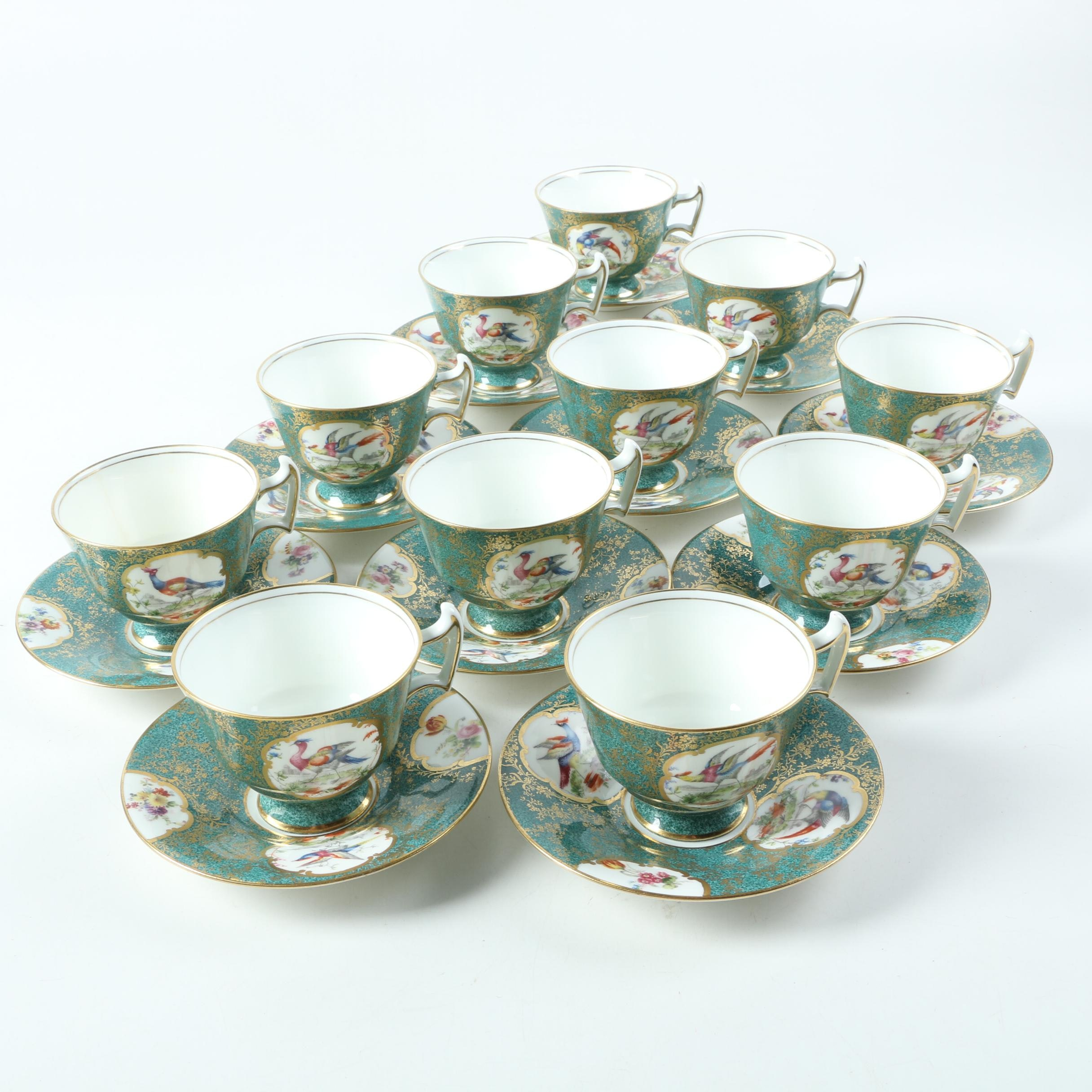 "Royal Doulton ""Birds of Paradise"" Porcelain Tableware"