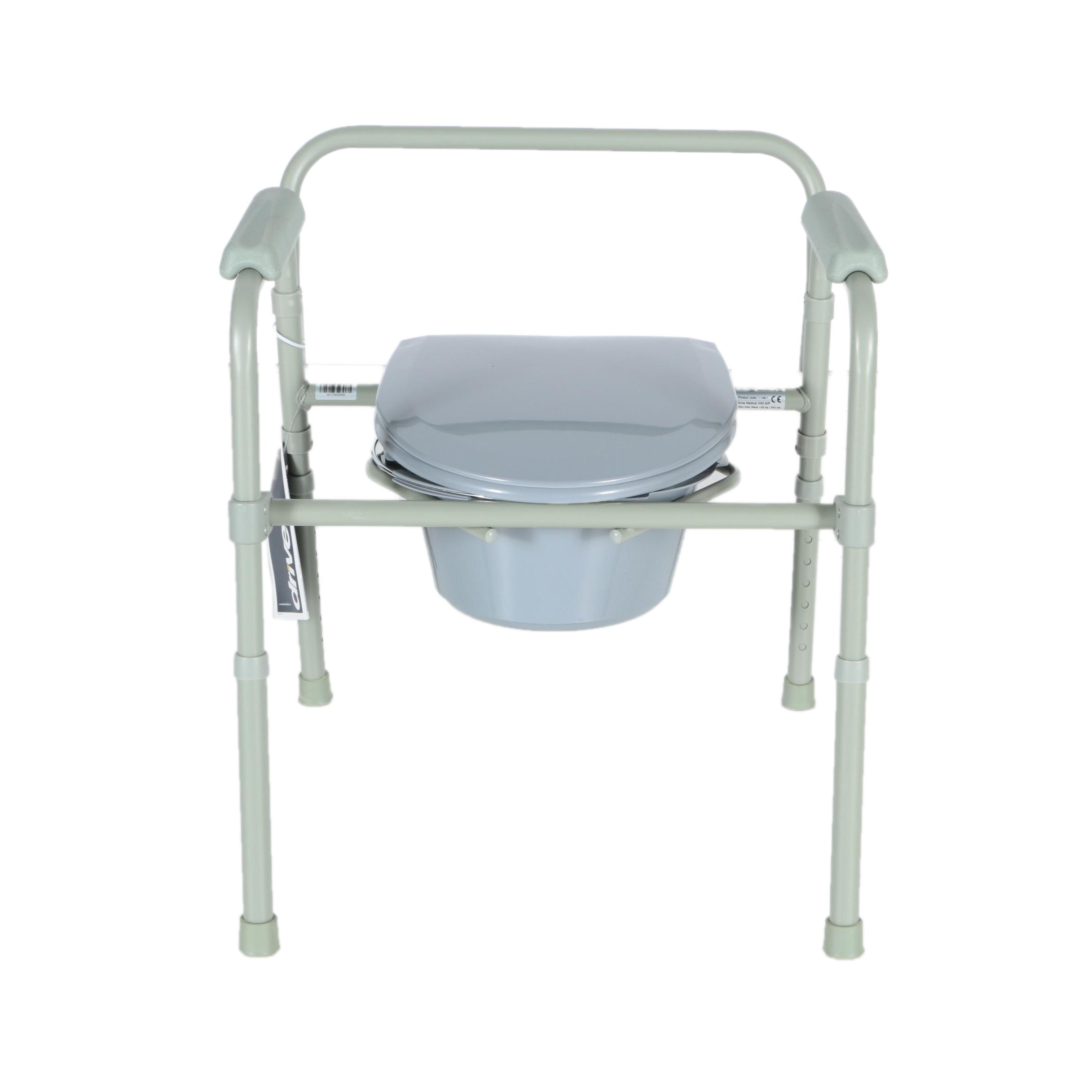 New In Box Drive Medical Folding Commode