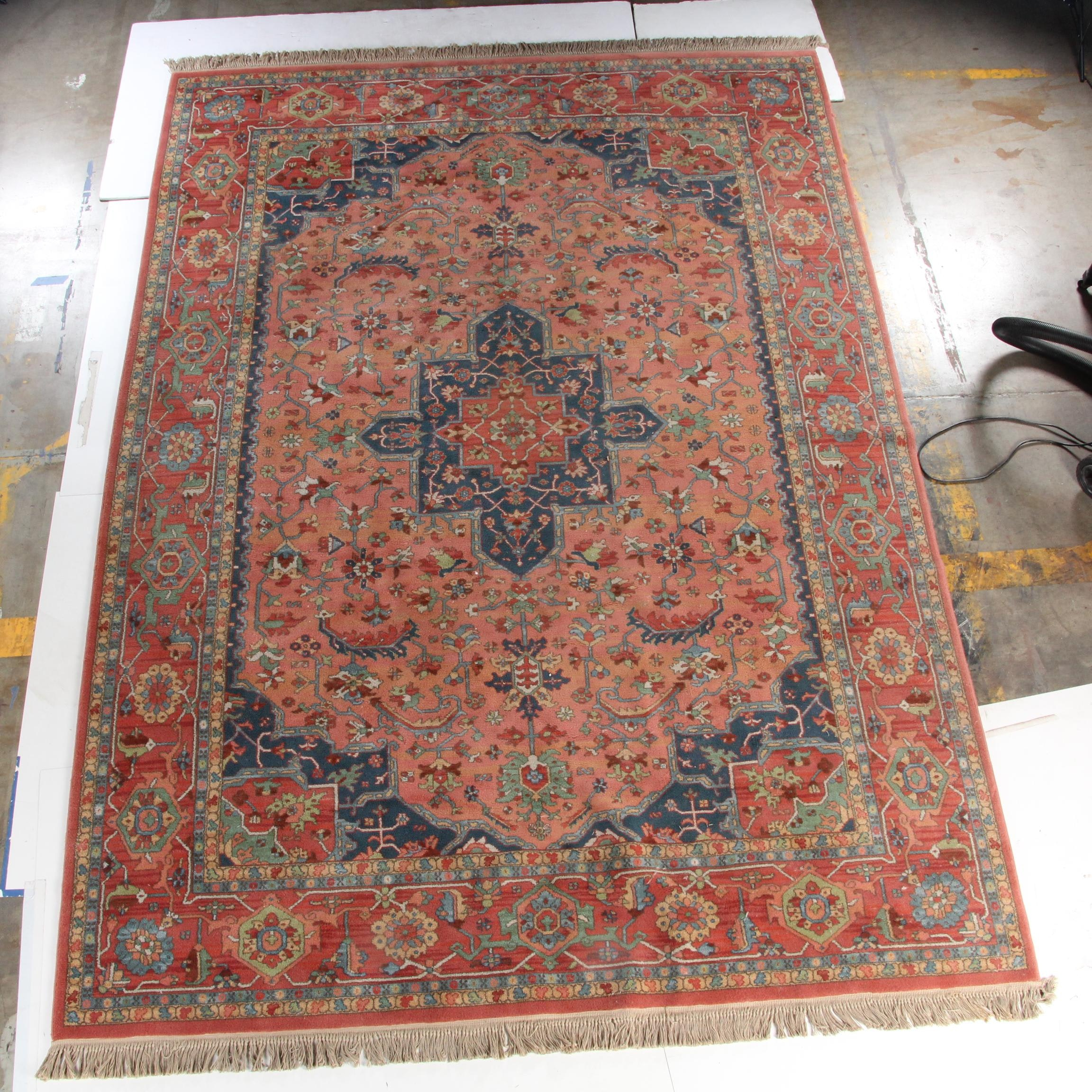 "Machine Made Karastan "" Medallion Serapi"" Area Rug"