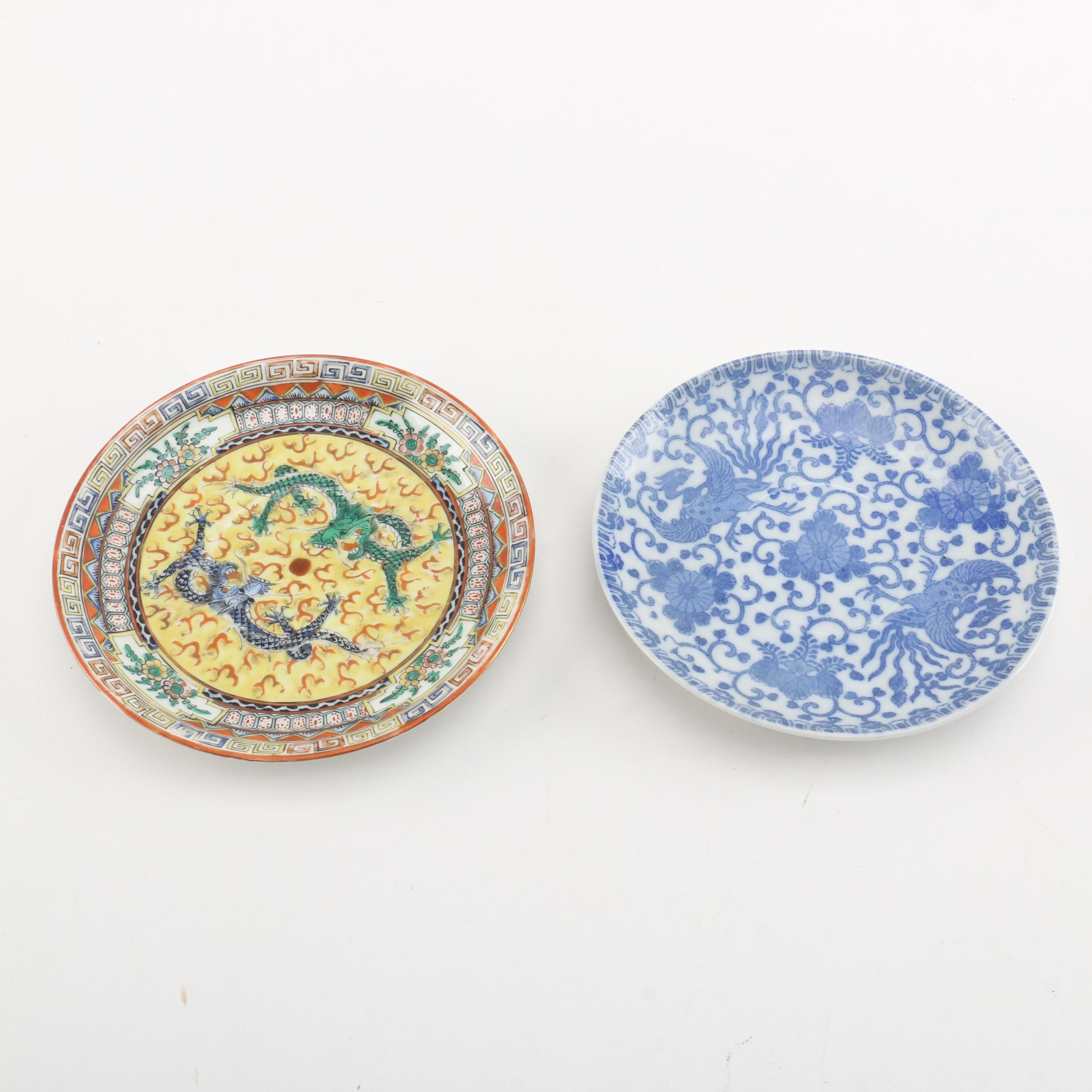 Chinese and Japanese Porcelain Plates