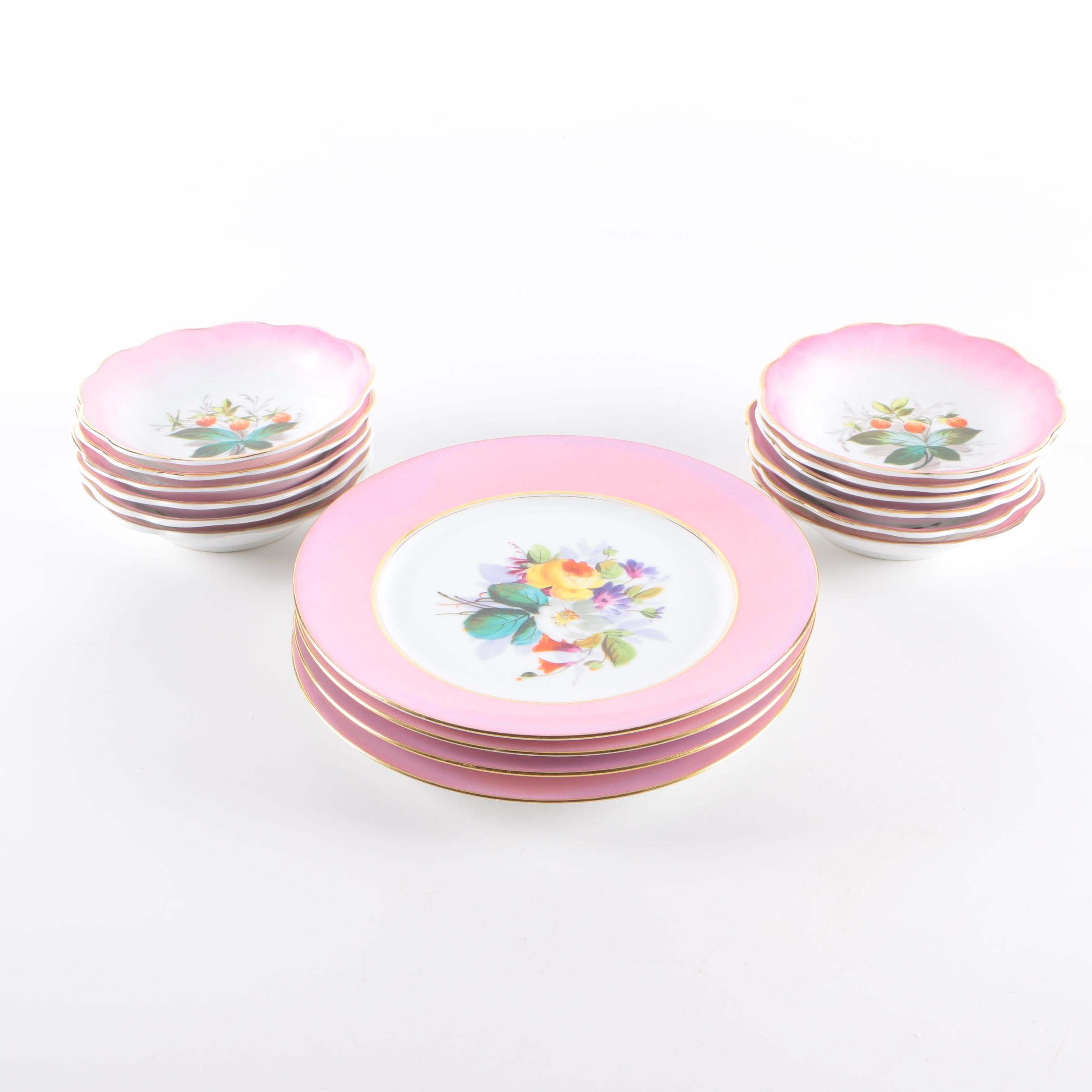 Floral Porcelain Tableware