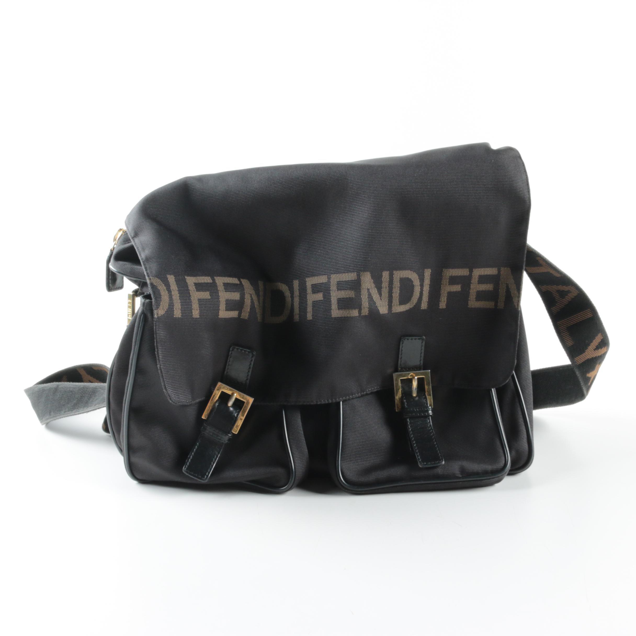 Fendi Nylon Messenger Bag