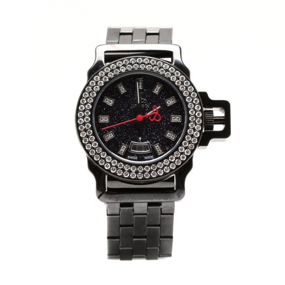 Jacob & Co. Diamond and Ceramic Wristwatch