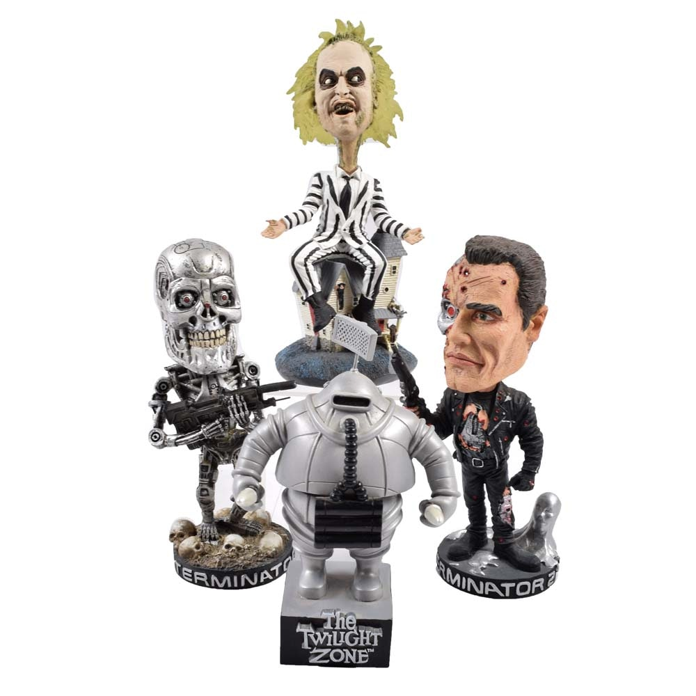 Pop Culture Monster Bobble Heads Featuring NECA