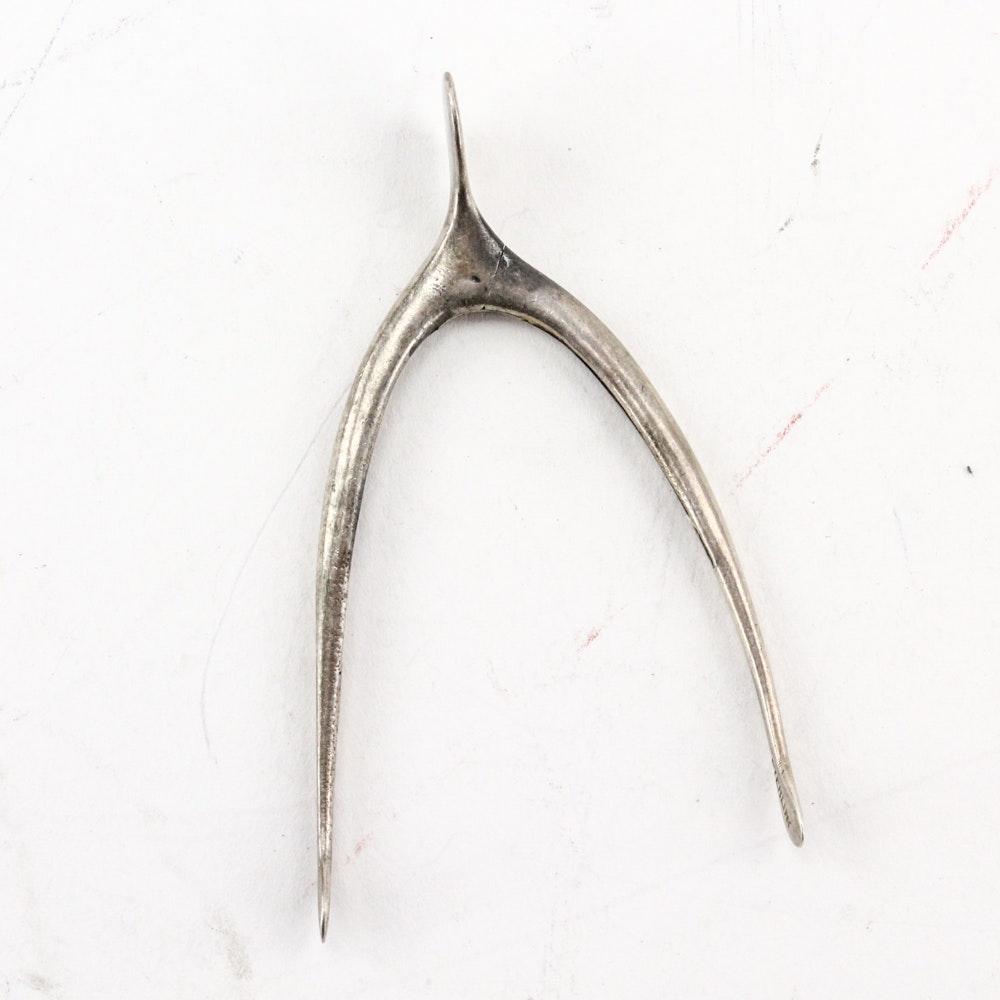 Mauser Silver Company Sterling Silver Wishbone