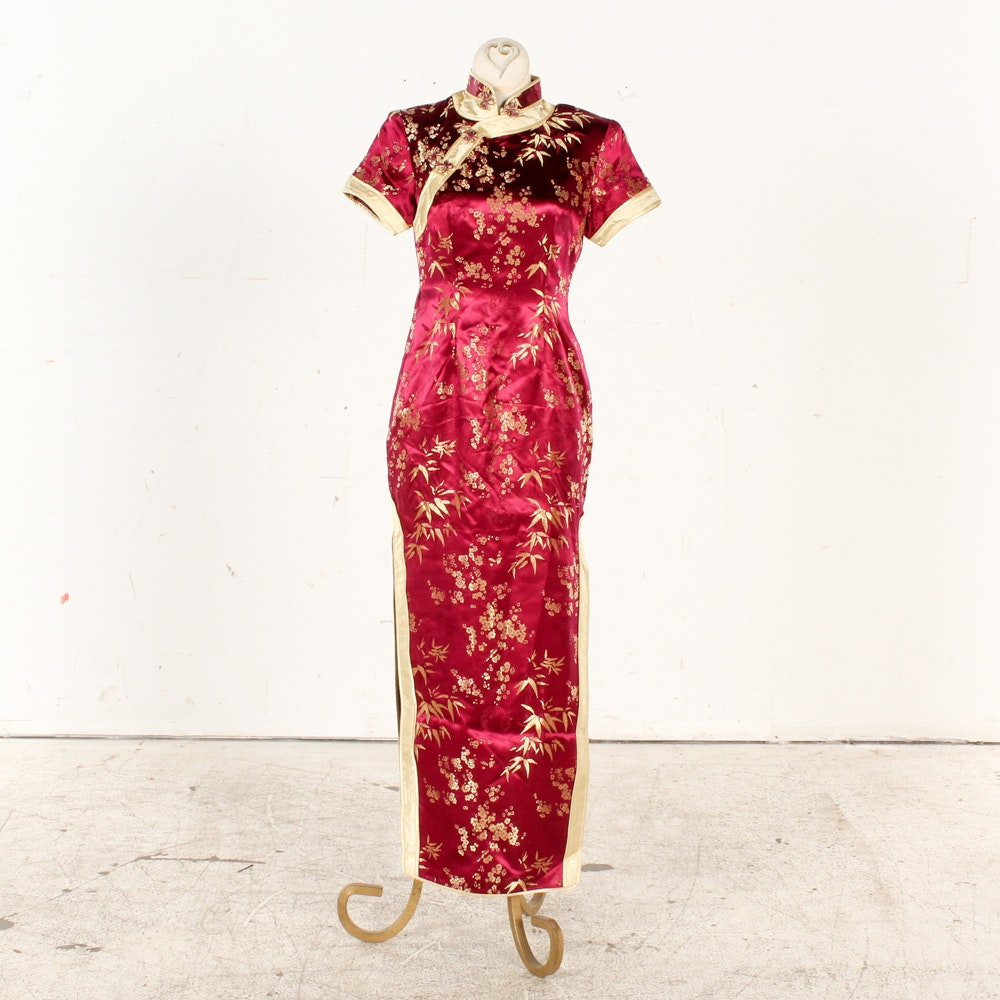 Splendid China Silk Cheongsam Dress