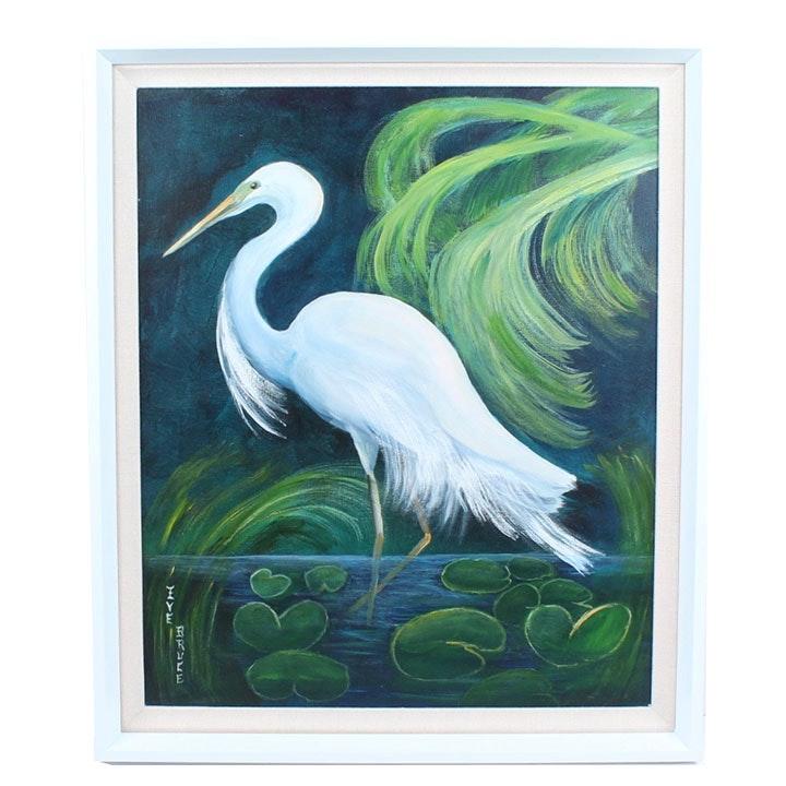 Eve Bruce Original Acrylic Painting on Canvas