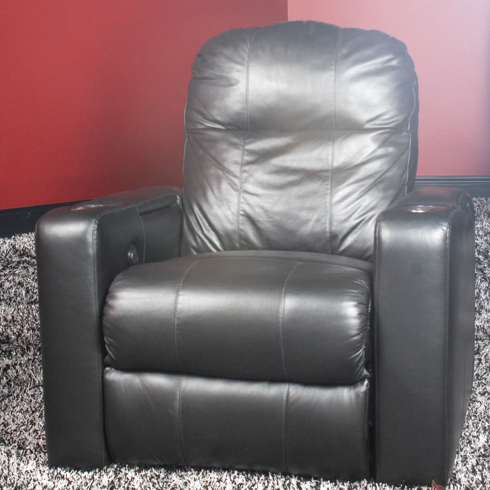 Movie Theater Style Leather Recliner