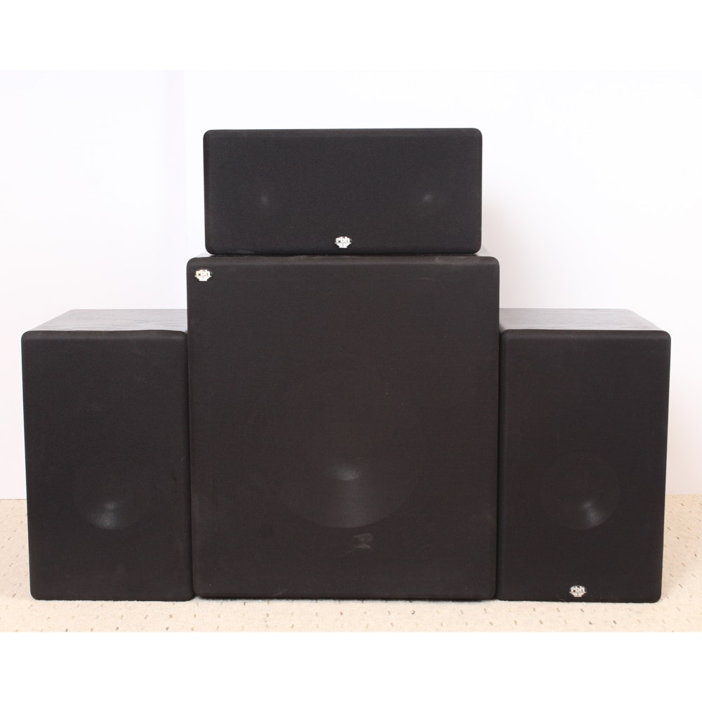 RBH Stereo Speakers and Subwoofer