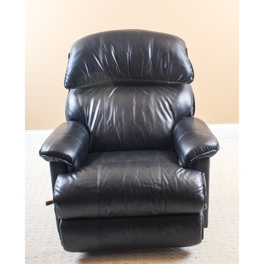 La-Z-Boy Matched Leather Recliner