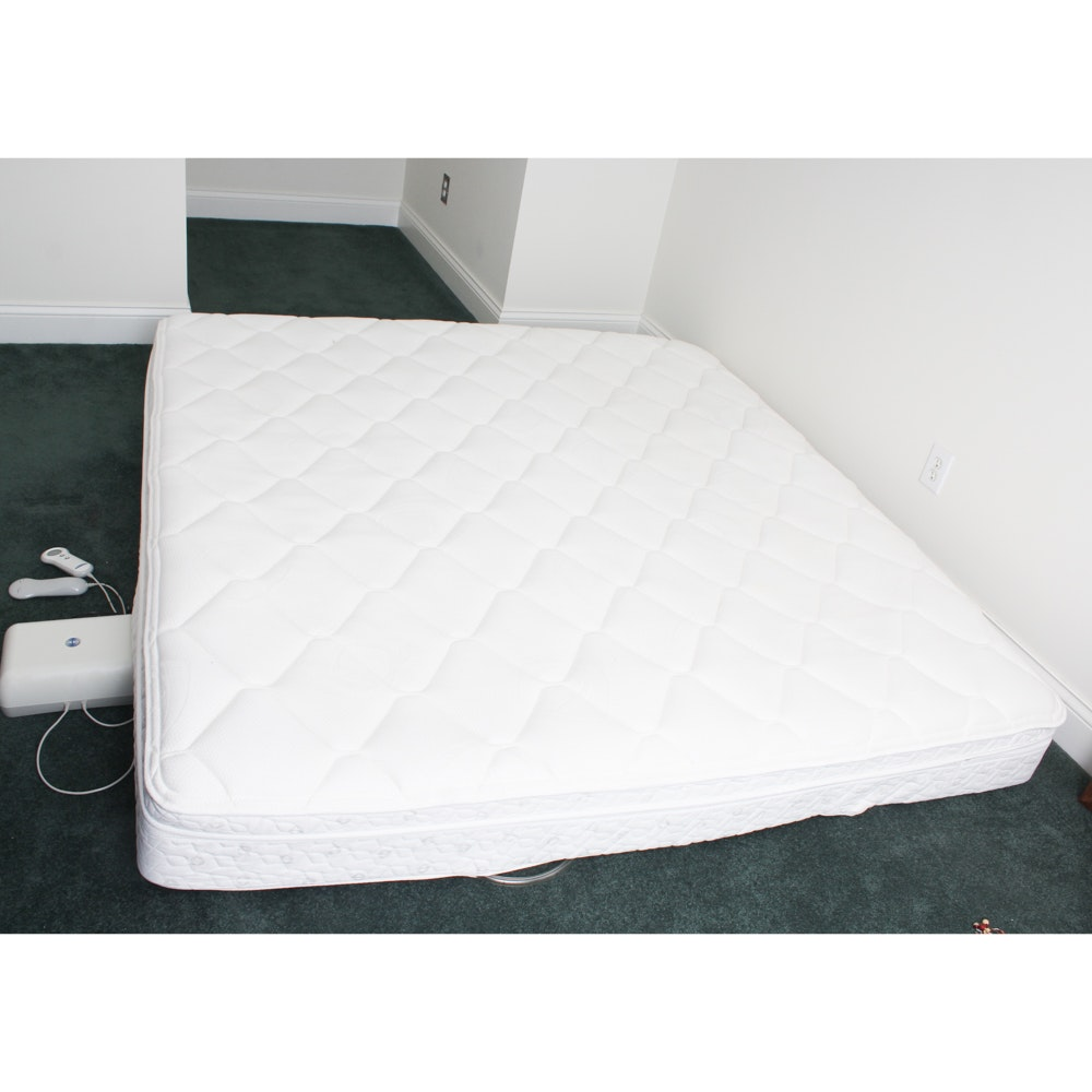 King Size Sleep Number Bed and Frame