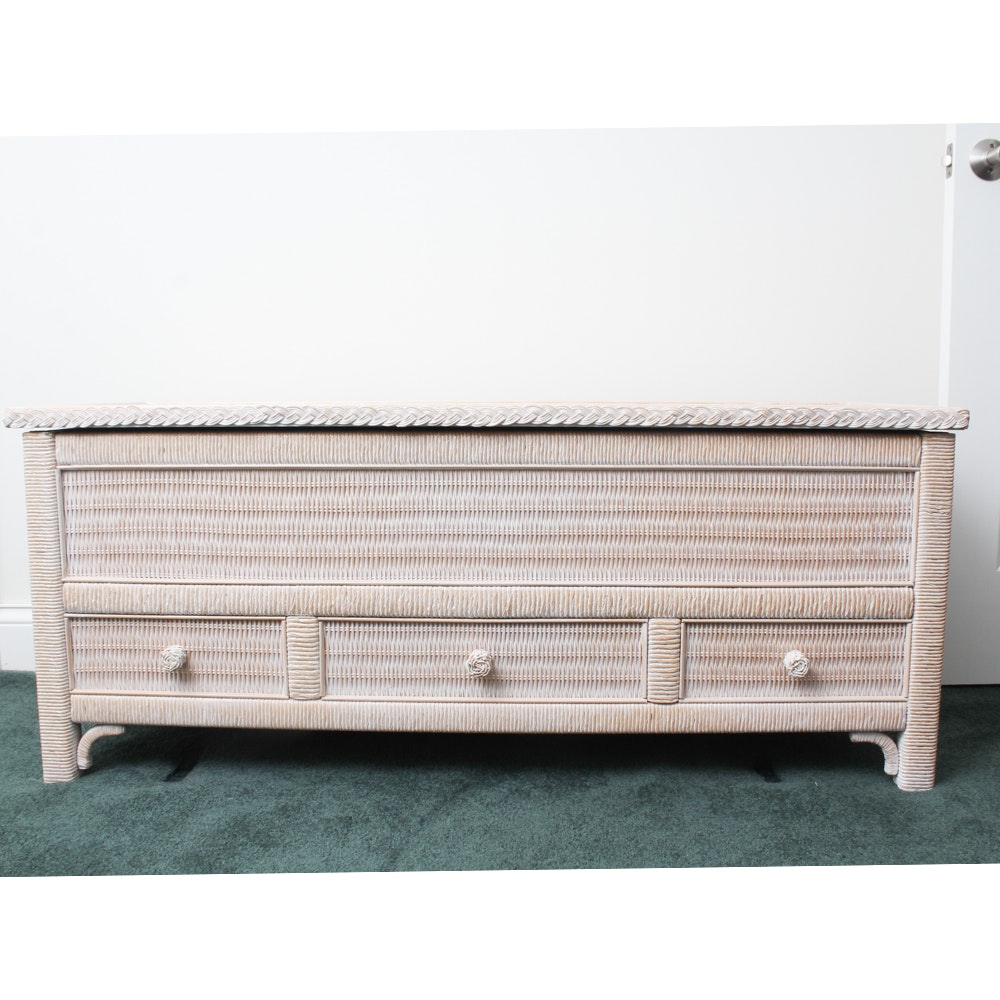 Wicker Style Chest