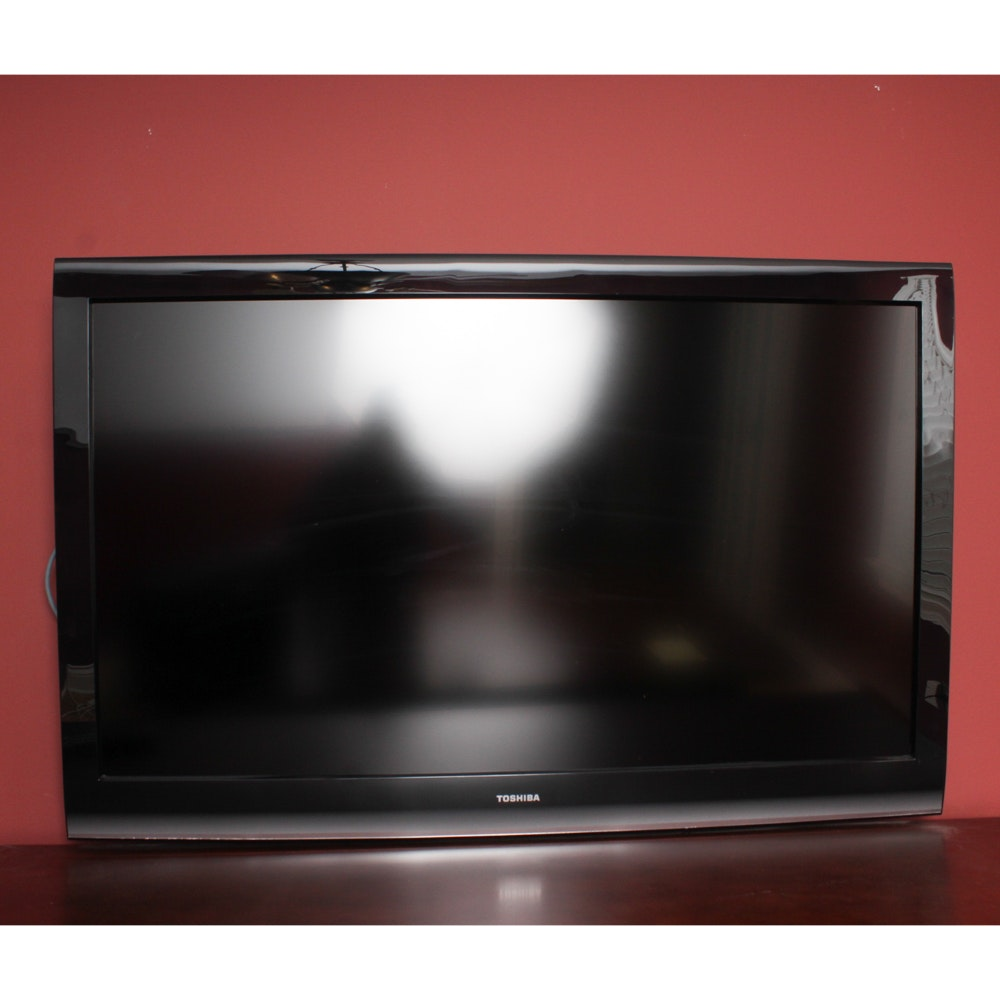 "Toshiba 54"" Flat Screen Television with Wall Mount"