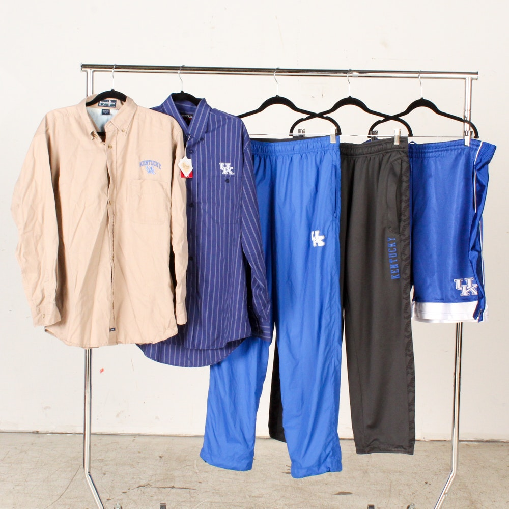 Men's University of Kentucky Themed Shirts and Pants