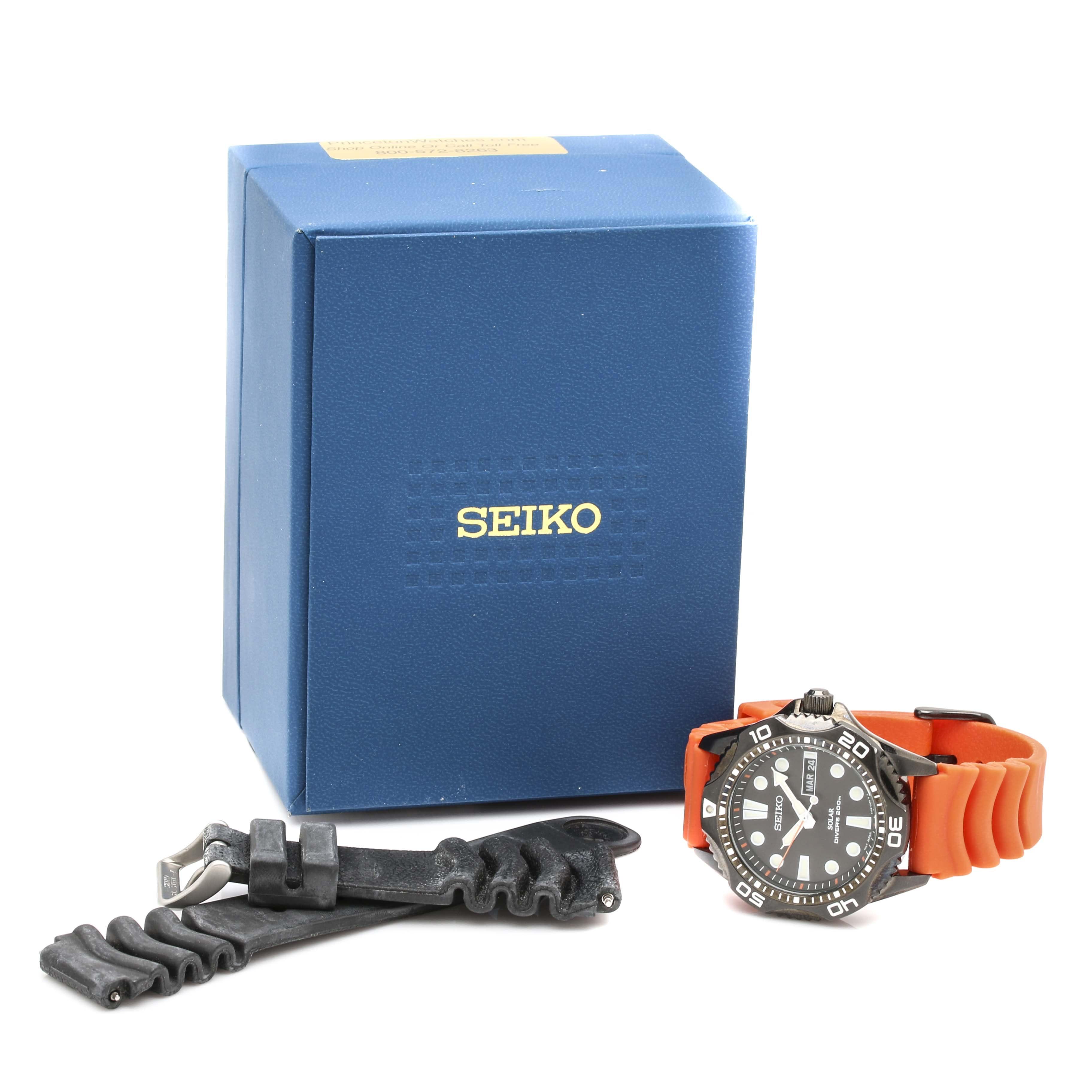 Seiko Solar Divers Wristwatch