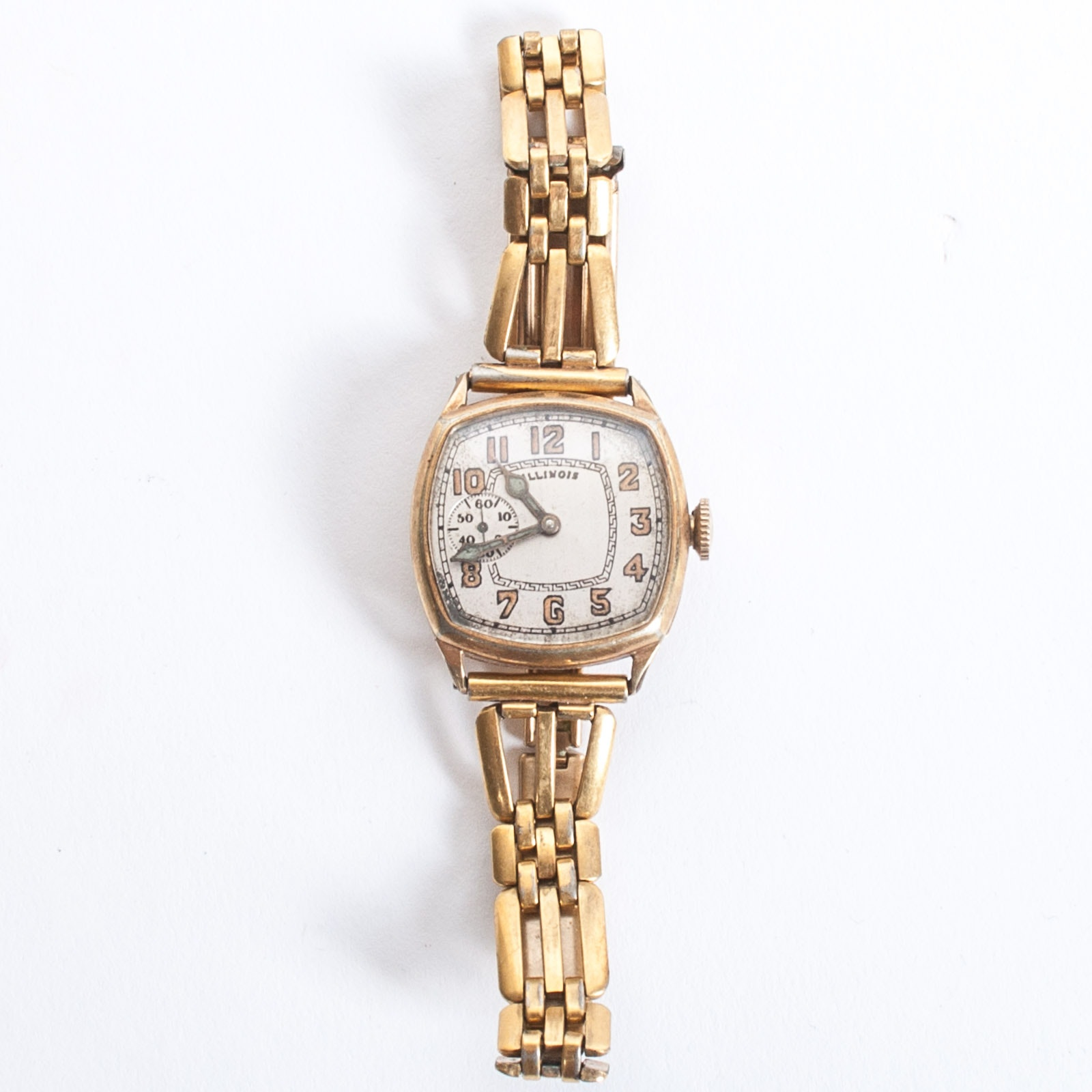 Illinois 14K Yellow Gold-Filled Circa 1926 Wristwatch