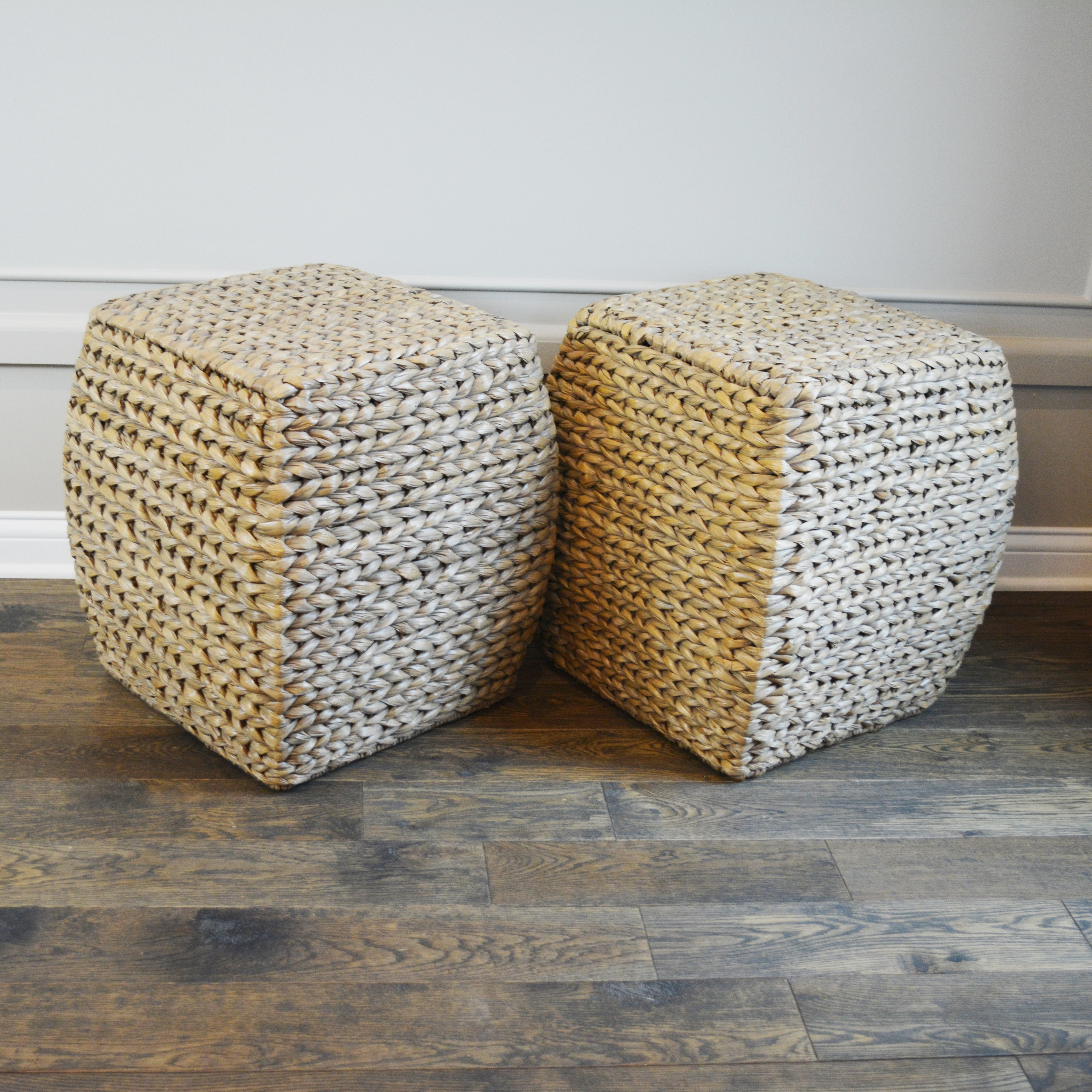 Seagrass Woven Accent Tables