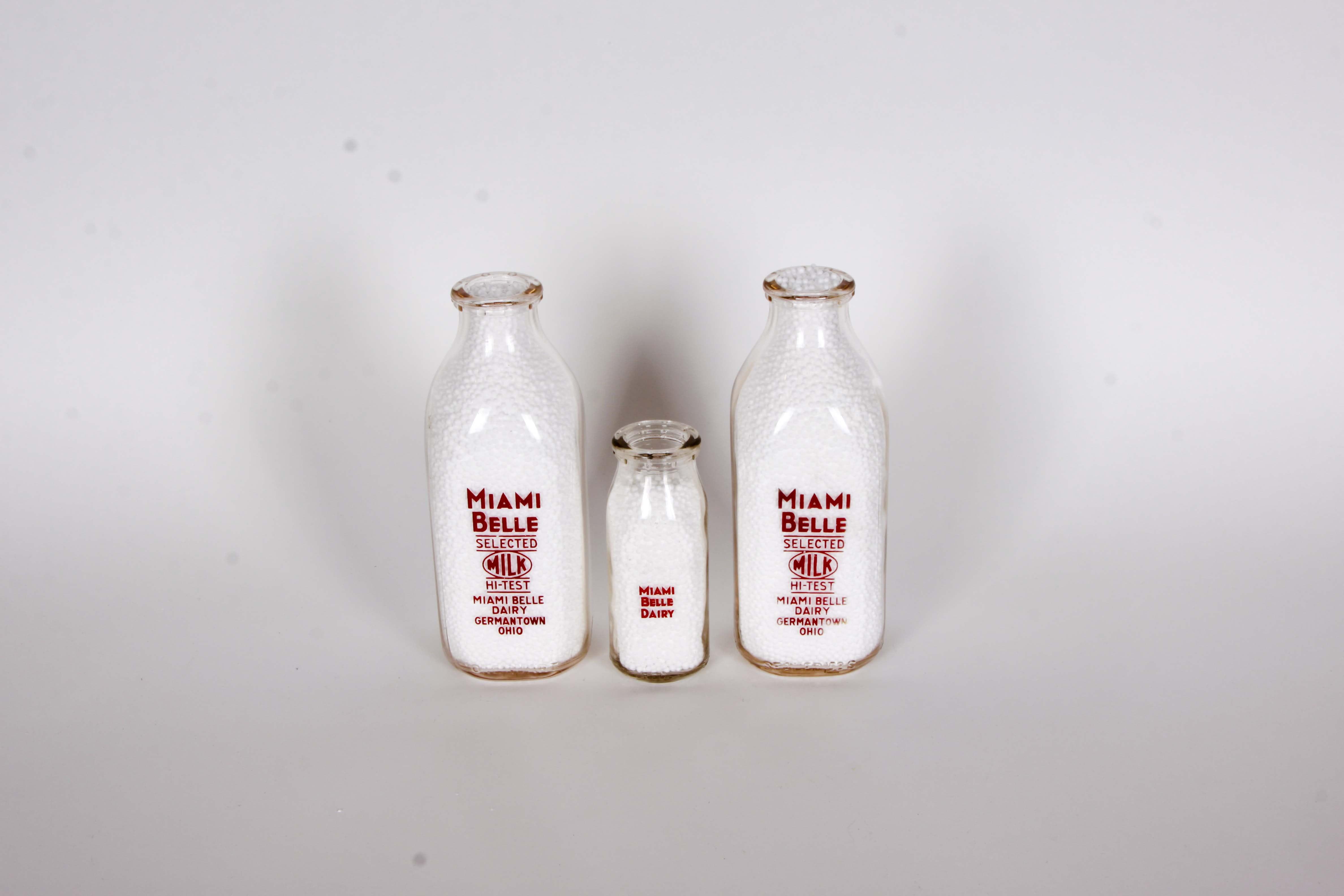Miami Belle Dairy Milk Bottles