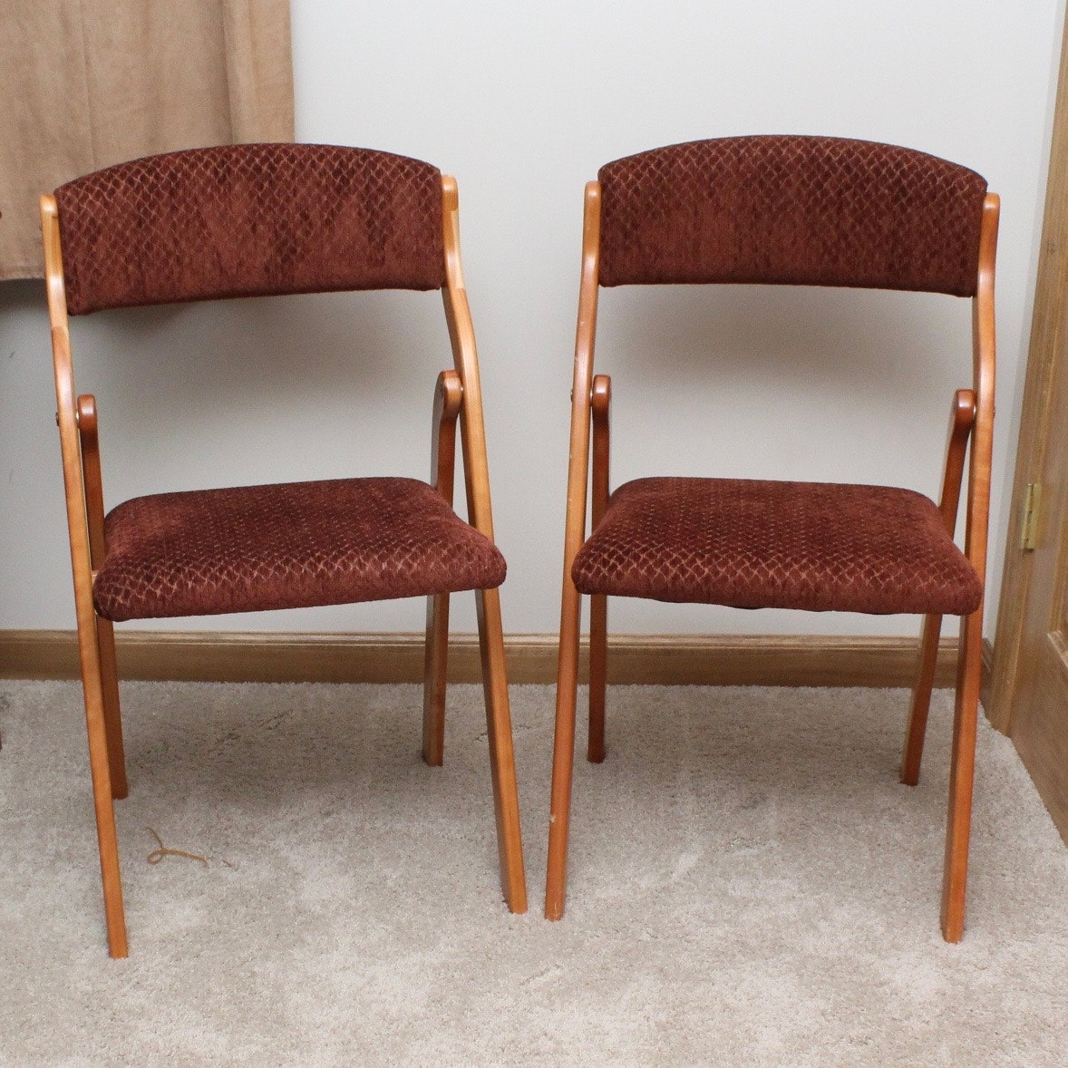 Upholstered Folding Chairs