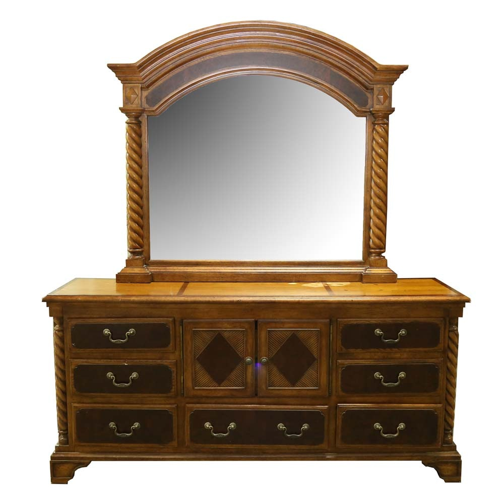 """Highlands"" Dresser and Mirror from Alexander Julian Home"