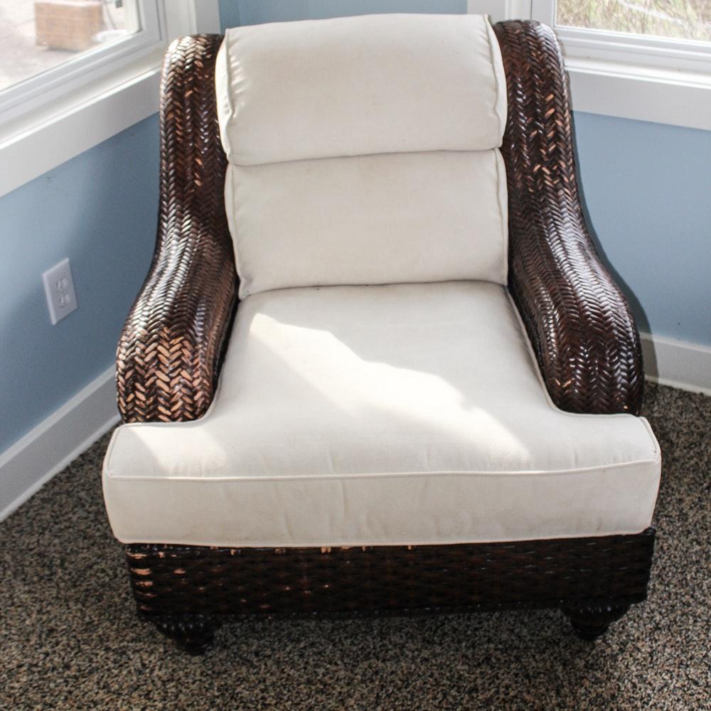 "Lane ""Venture"" Wicker Armchair"