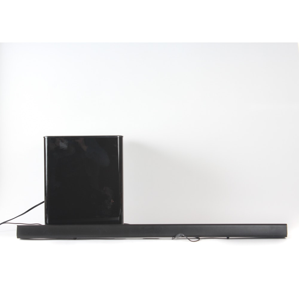 Samsung Soundbar and Wireless Subwoofer