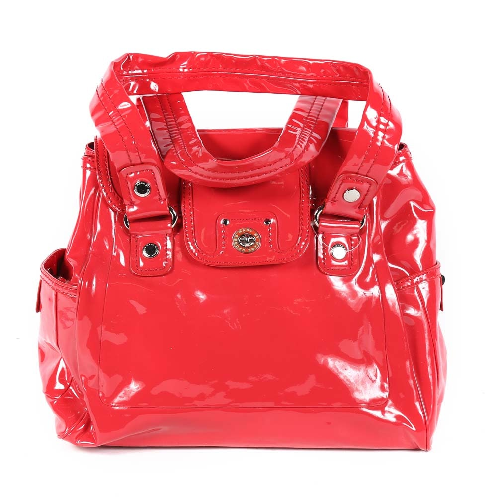 Marc by Marc Jacobs Patent Leather Satchel Handbag