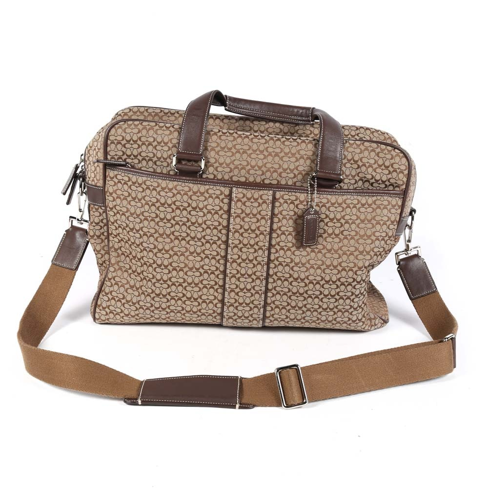 Coach Hudson Commuter Messenger Bag