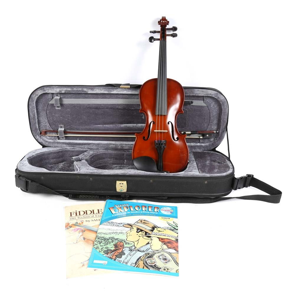 Student Violin and Case