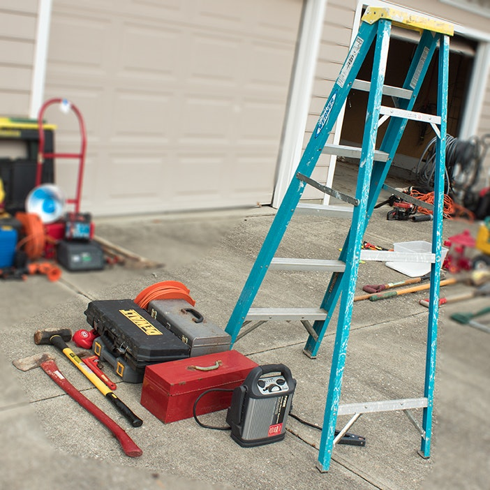 Werner Ladder and Power Tools Featuring DeWalt, Ryobi and Troy-Built