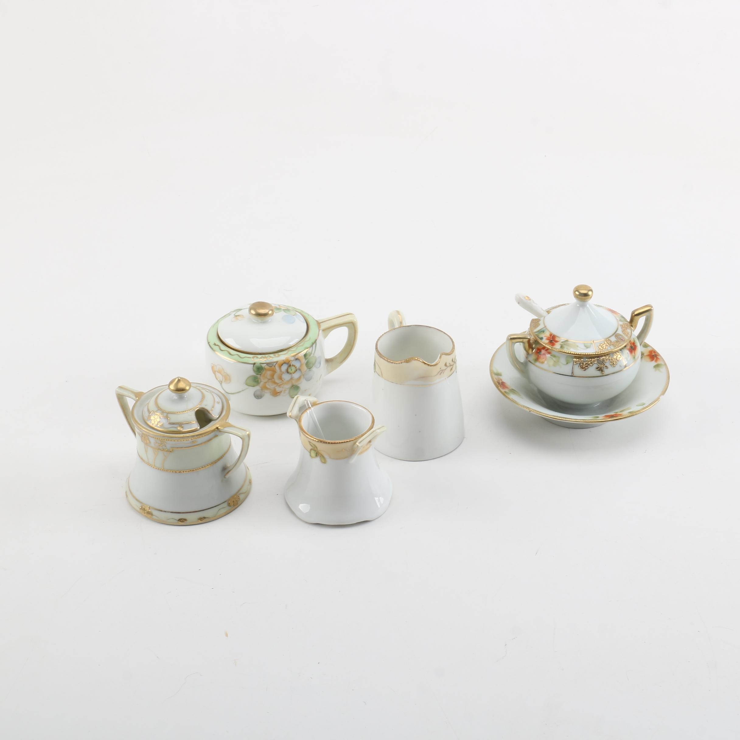 Hand-Painted Nippon Porcelain Tableware