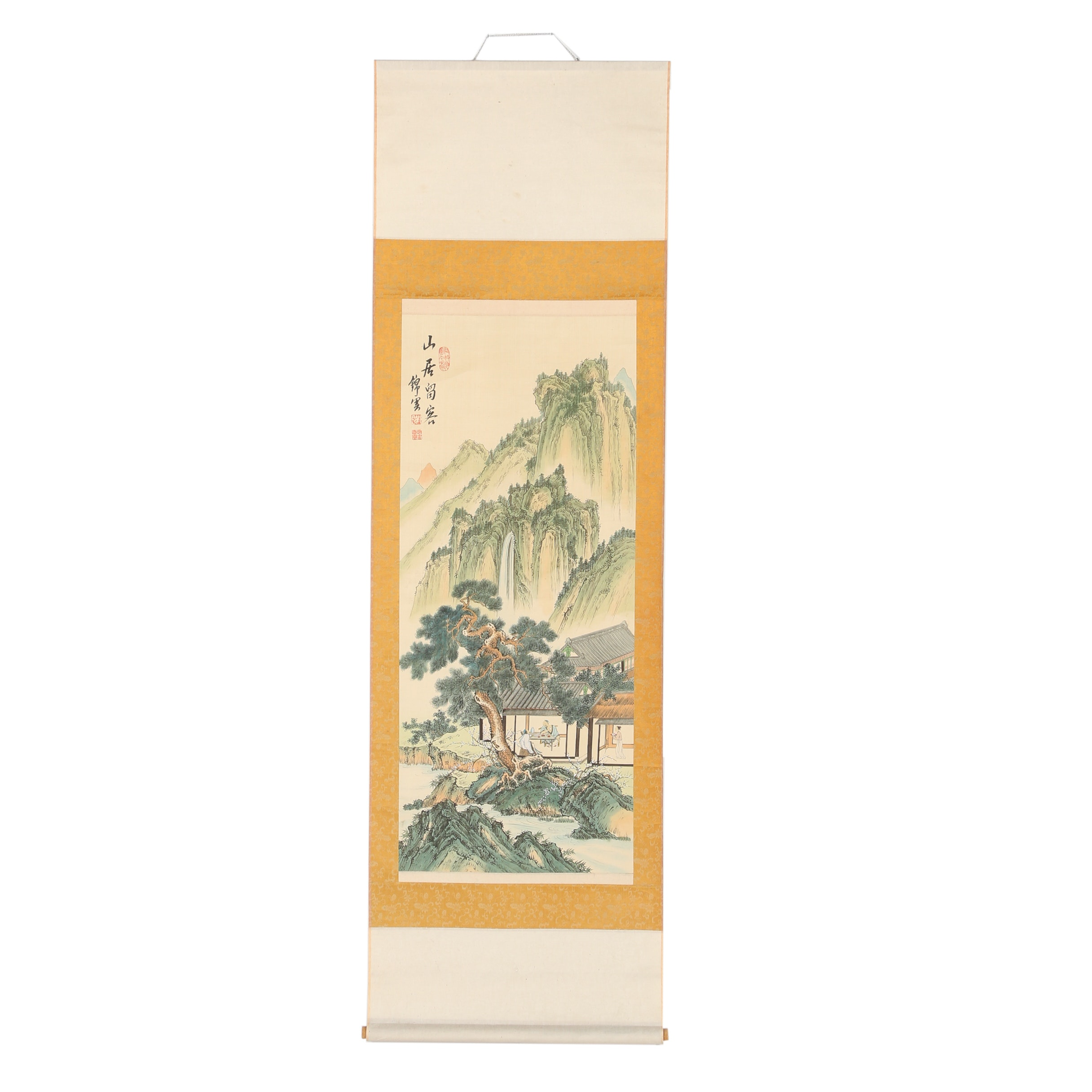 Chinese Landscape Hanging Scroll
