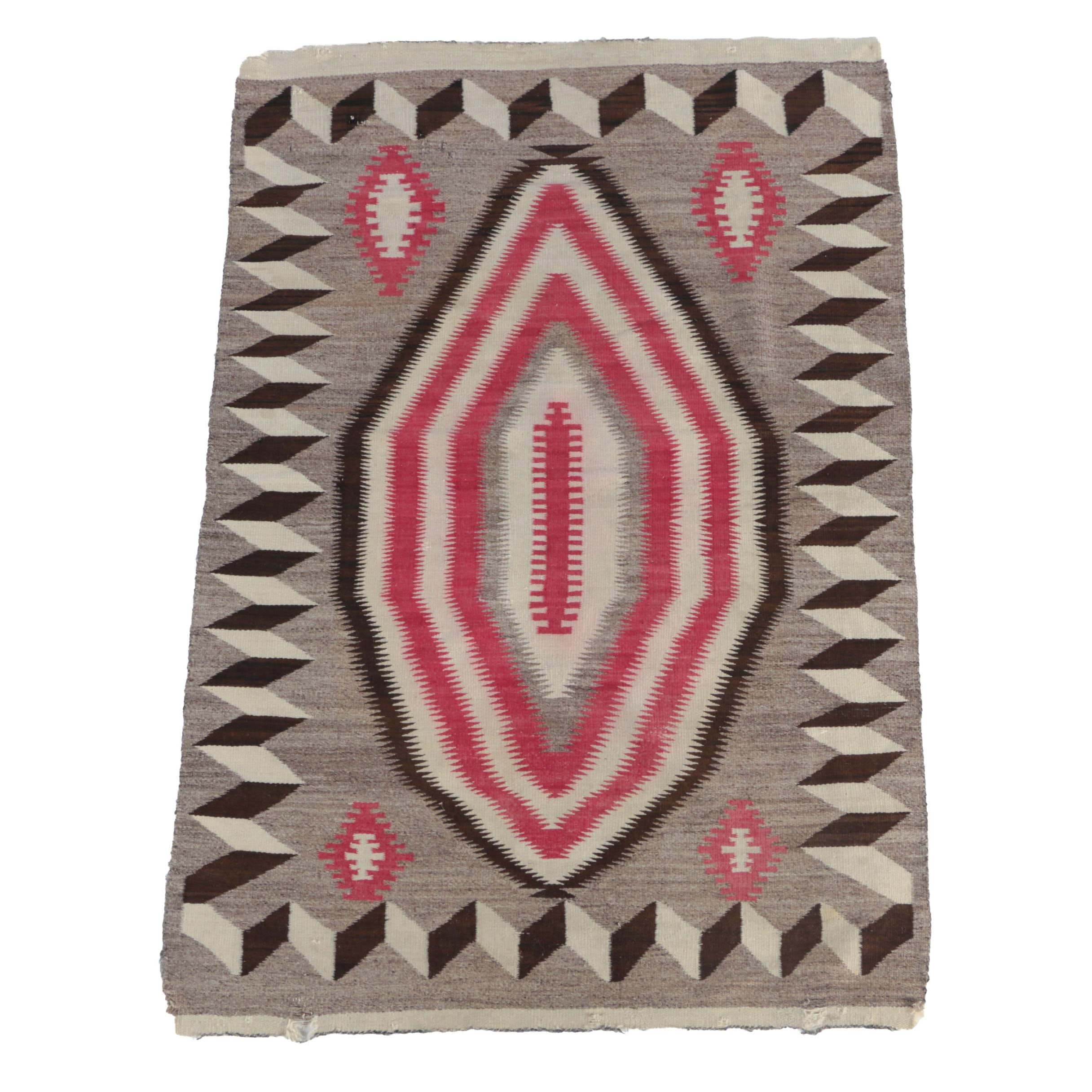 Handwoven Native American Style Area Rug