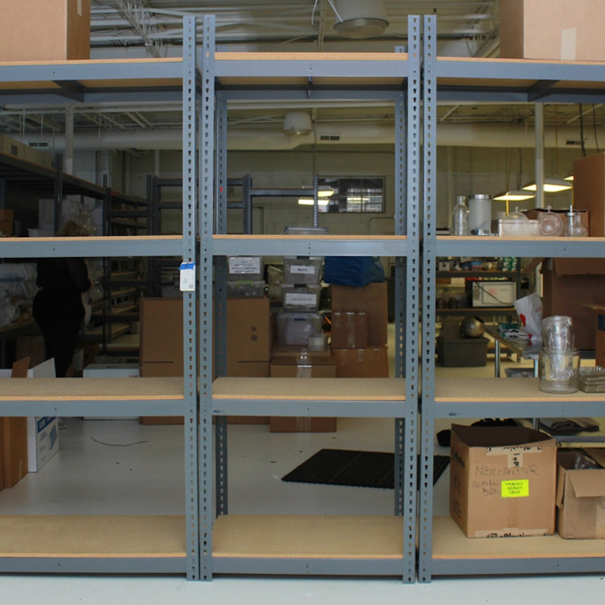uline industrial metal shelving units - Industrial Metal Shelving