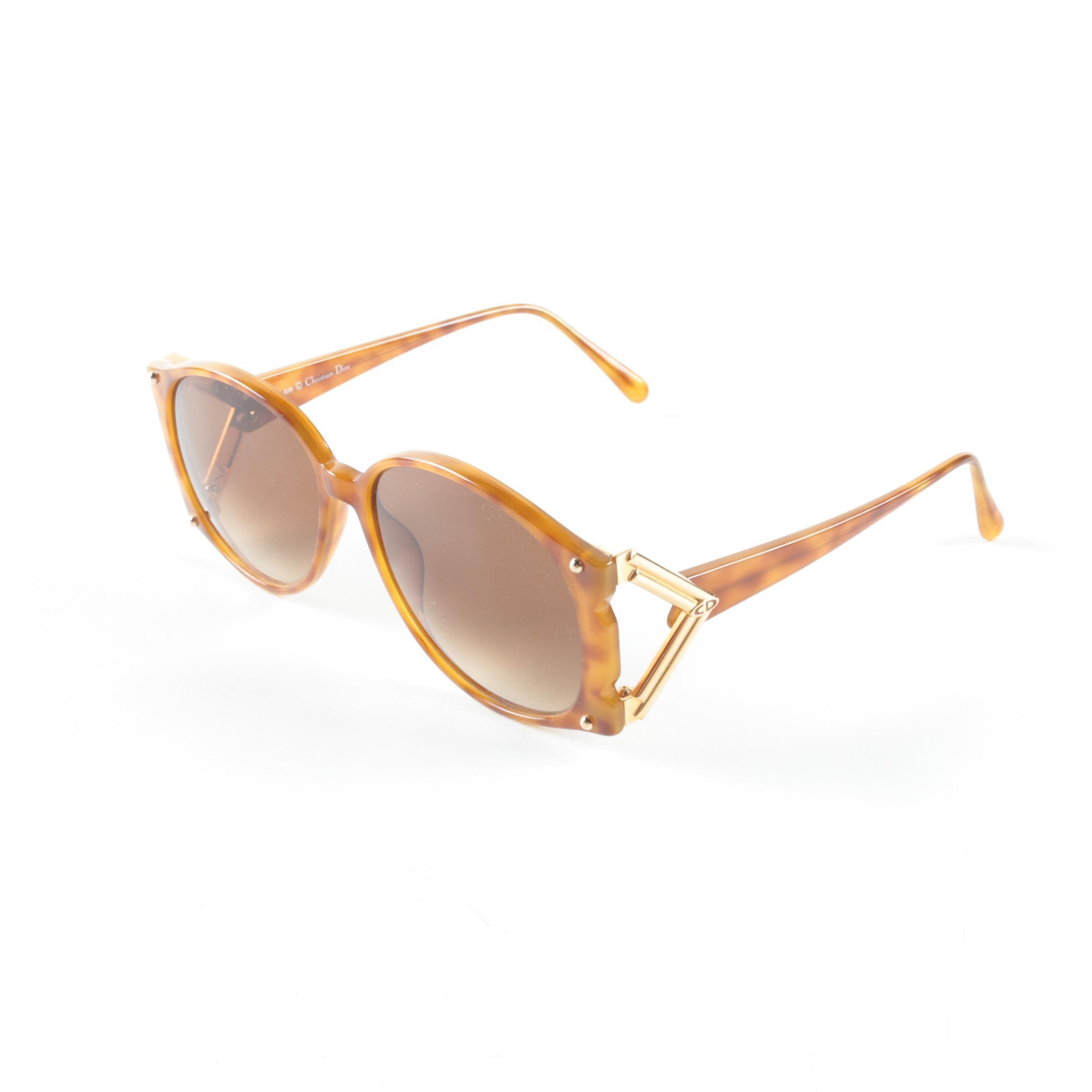 Vintage Christian Dior Sunglasses