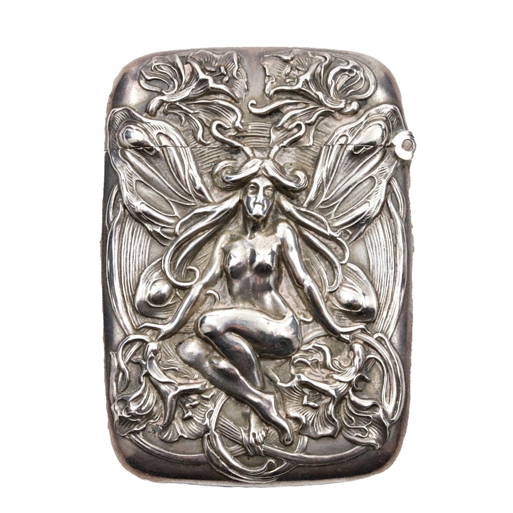 Antique Sterling Silver Match Strike