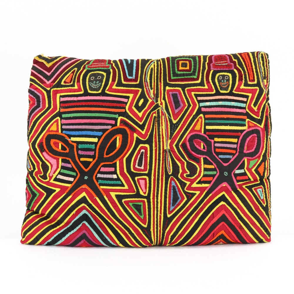 Mola Kuna Style Accent Pillows